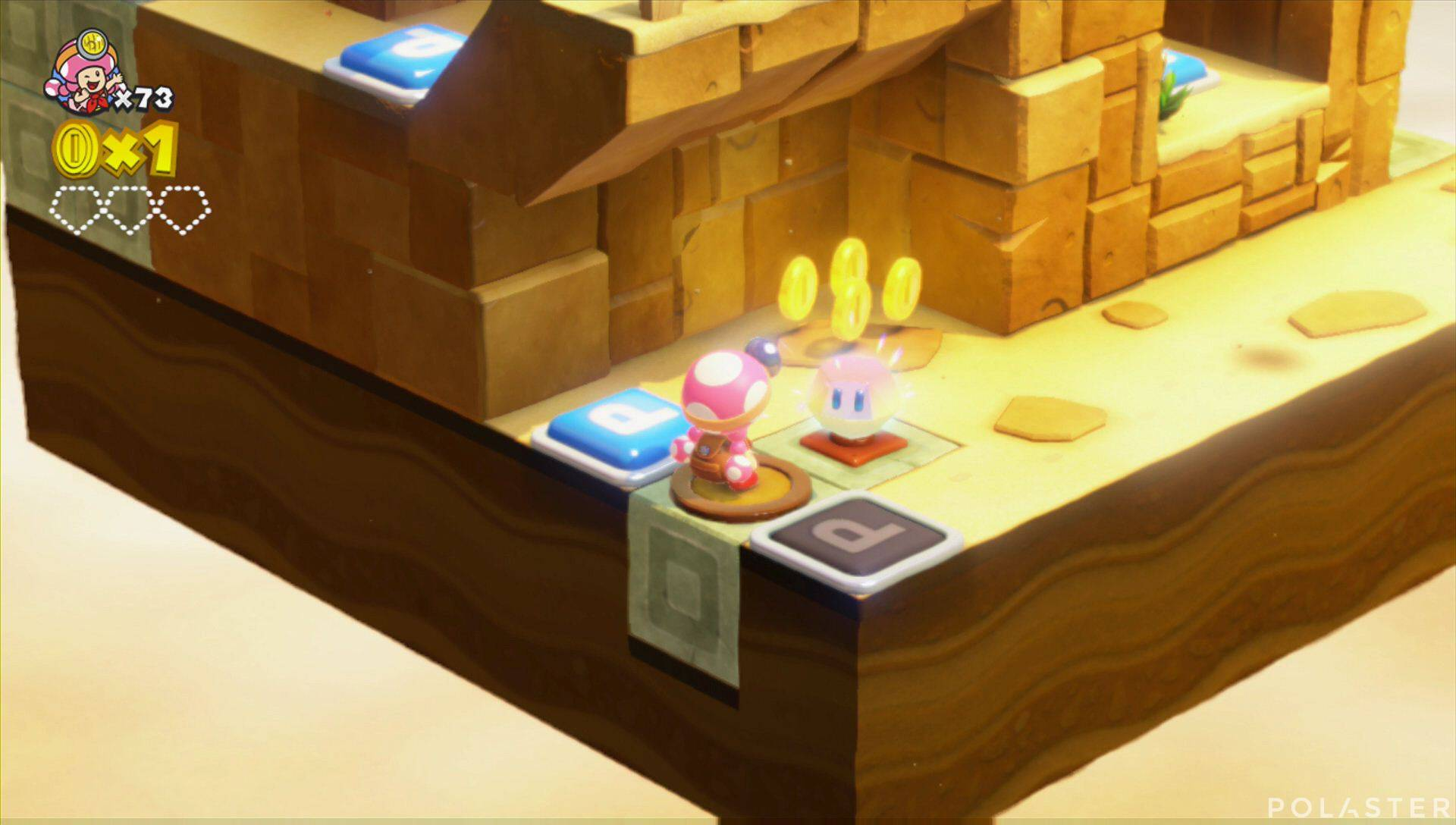Captain Toad: Treasure Tracker Parte 3 Nivel 8 Superdiamante 1