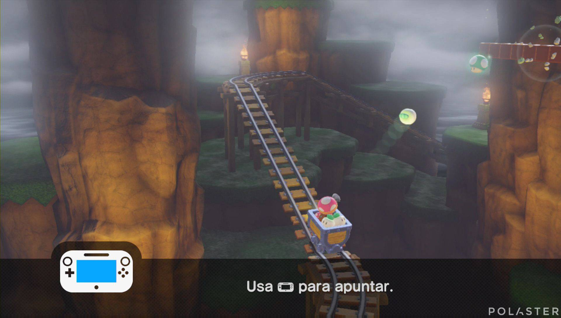 Captain Toad: Treasure Tracker Parte 3 Nivel 9 Champiñón vida extra