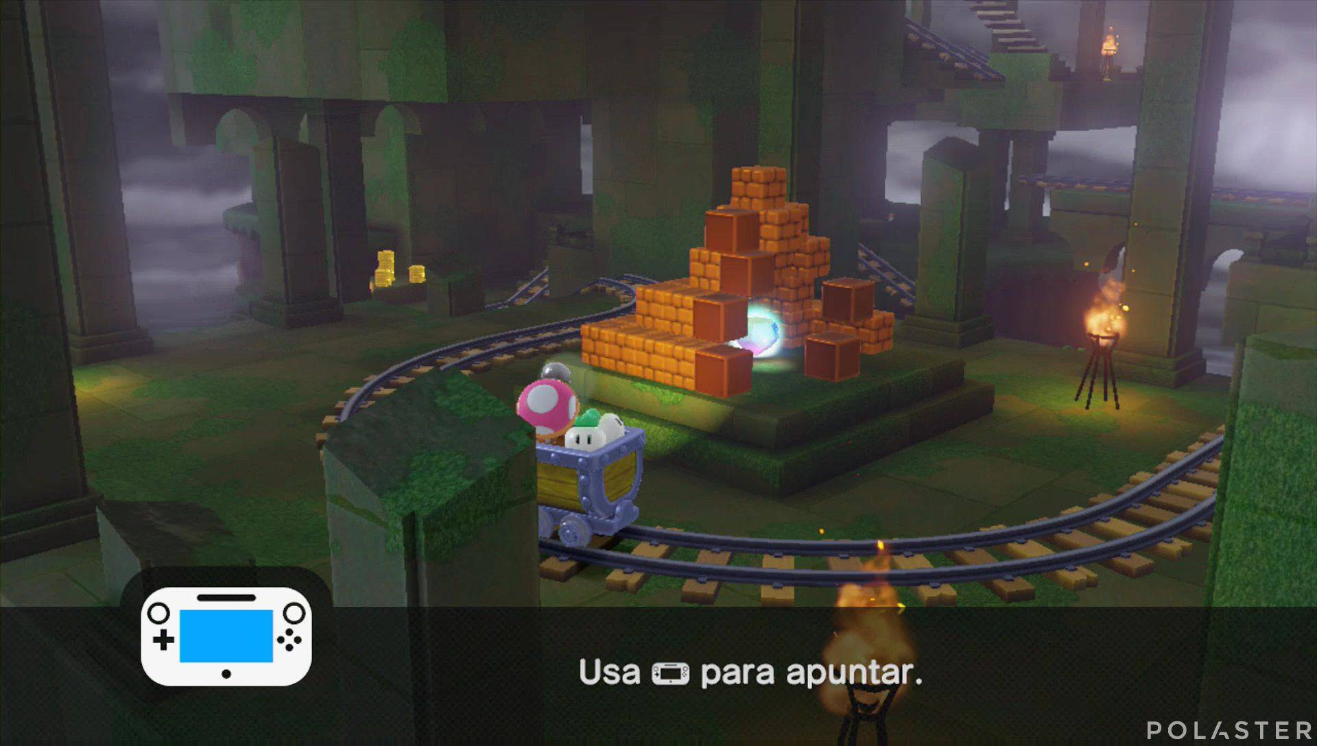 Captain Toad: Treasure Tracker Parte 3 Nivel 9 Superdiamante 1