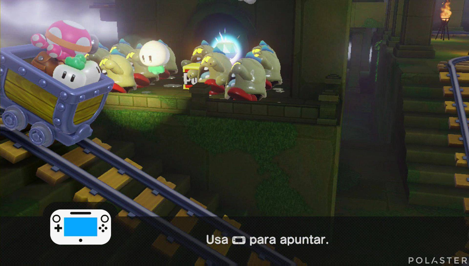 Captain Toad: Treasure Tracker Parte 3 Nivel 9 Superdiamante 2