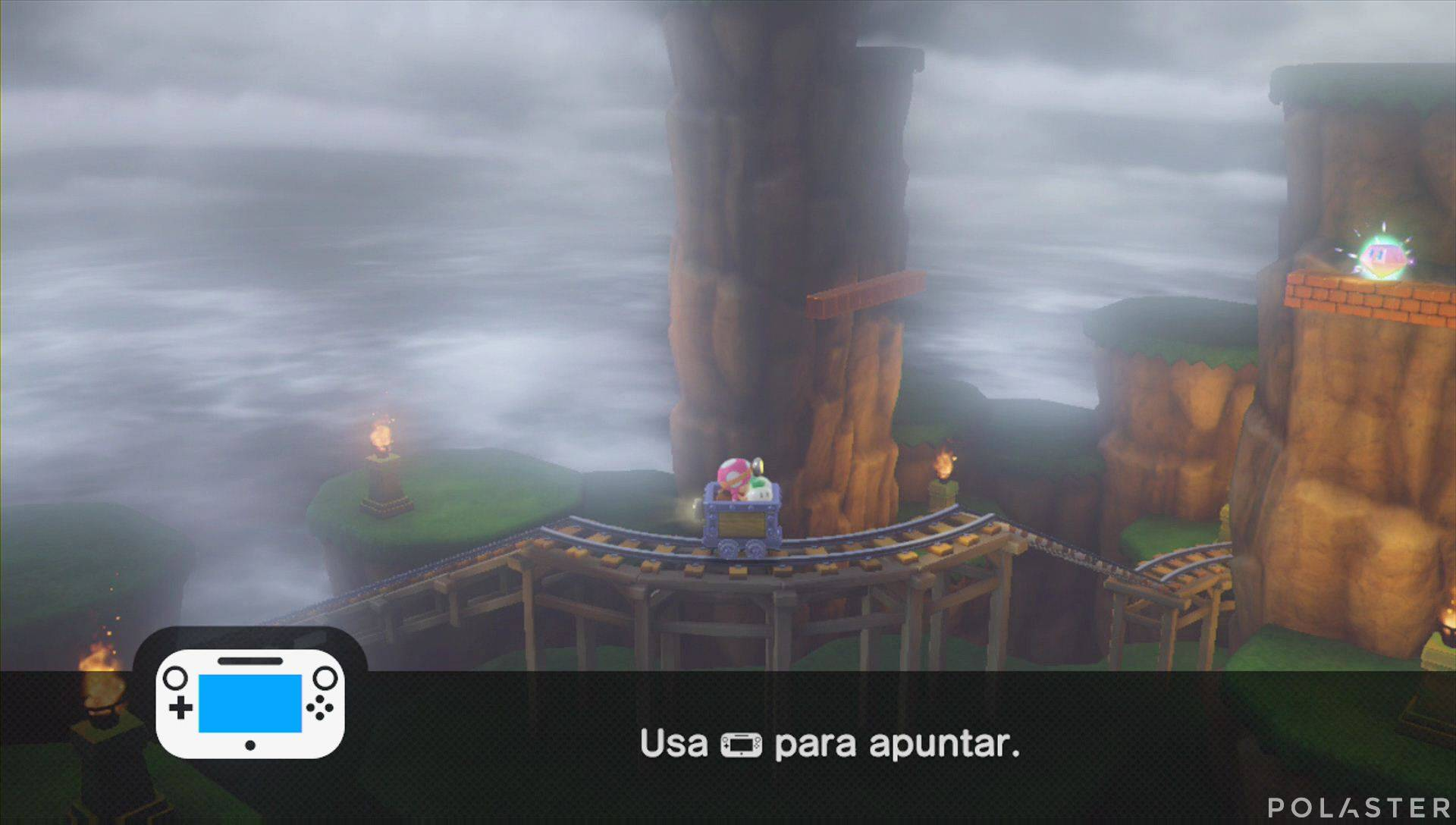 Captain Toad: Treasure Tracker Parte 3 Nivel 9 Superdiamante 3