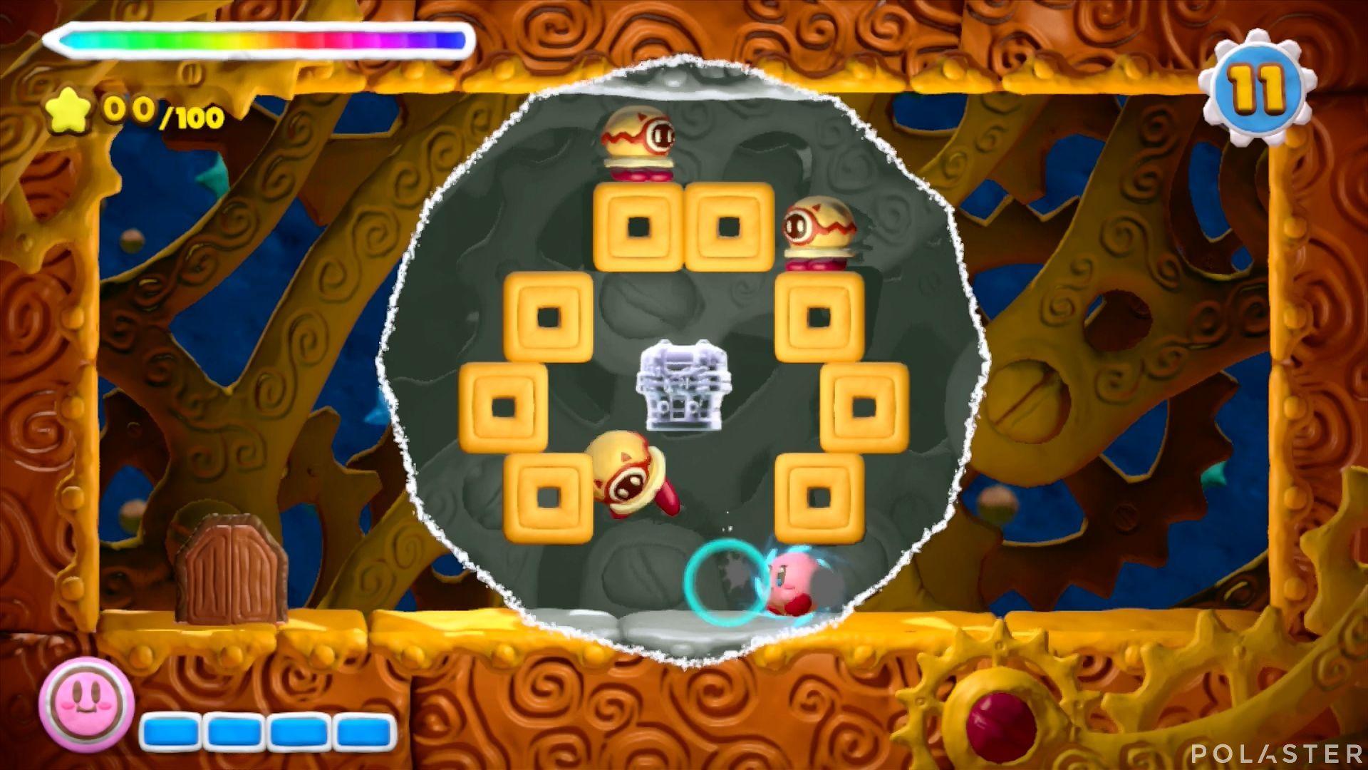 Kirby y el Pincel Arcoíris - Desafío 10 Cofre 2