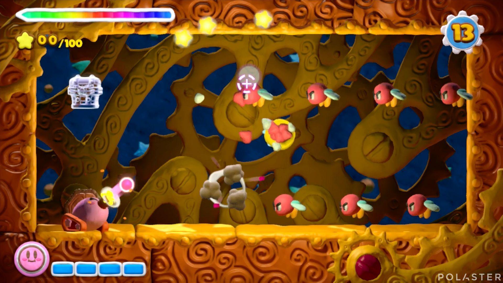 Kirby y el Pincel Arcoíris - Desafío 11 Cofre 1