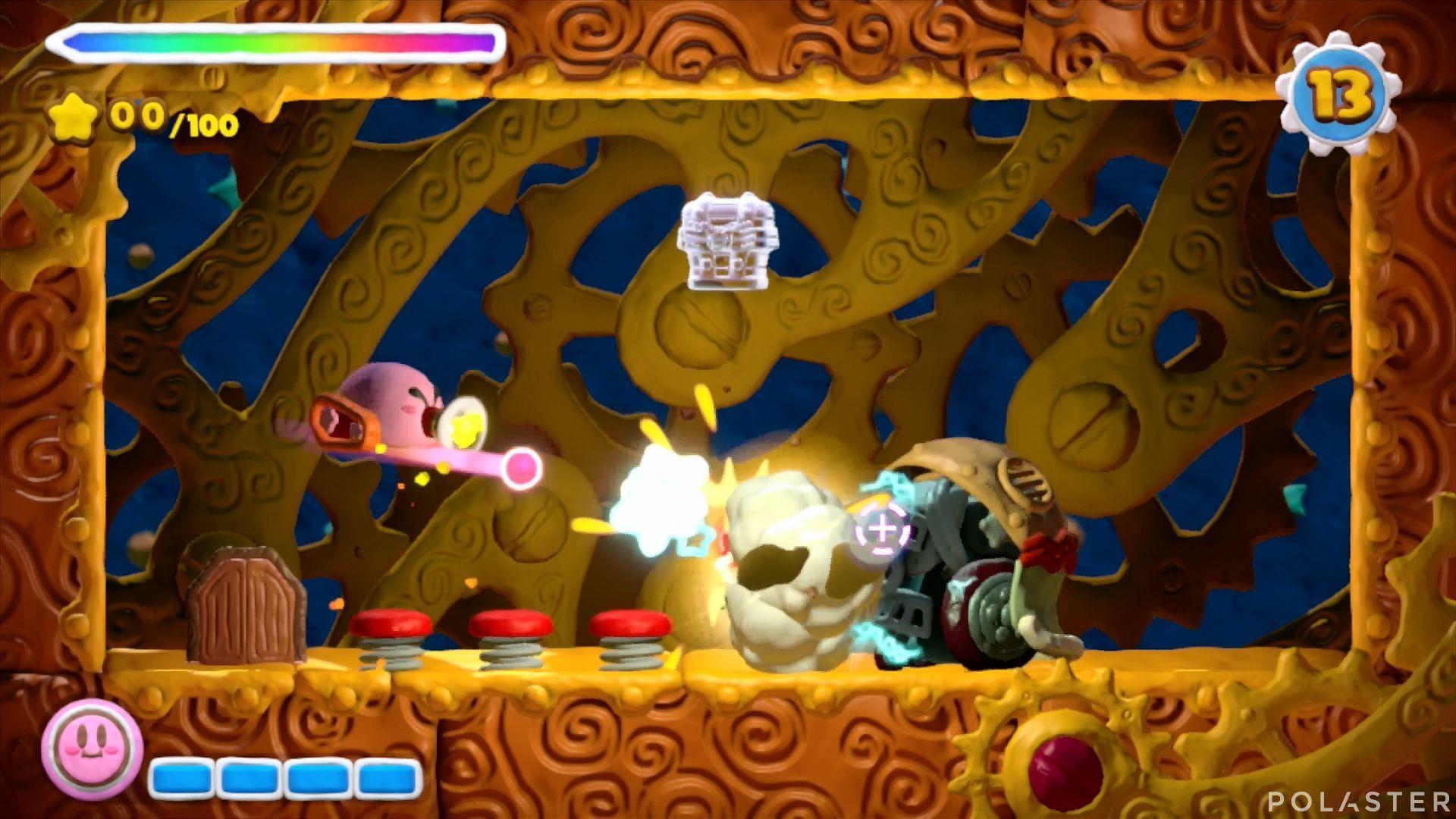 Kirby y el Pincel Arcoíris - Desafío 11 Cofre 2