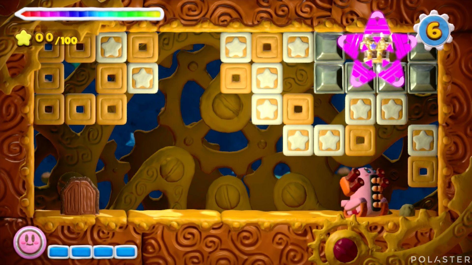 Kirby y el Pincel Arcoíris - Desafío 11 Cofre 4