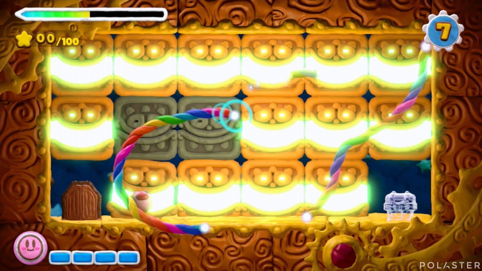 Kirby y el Pincel Arcoíris - Desafío 12 Cofre 3