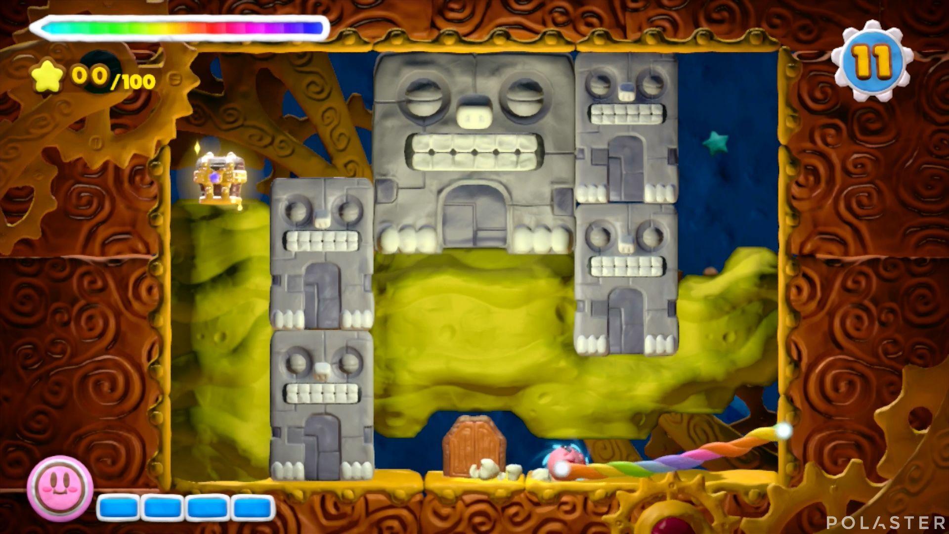 Kirby y el Pincel Arcoíris - Desafío 12 Cofre 4