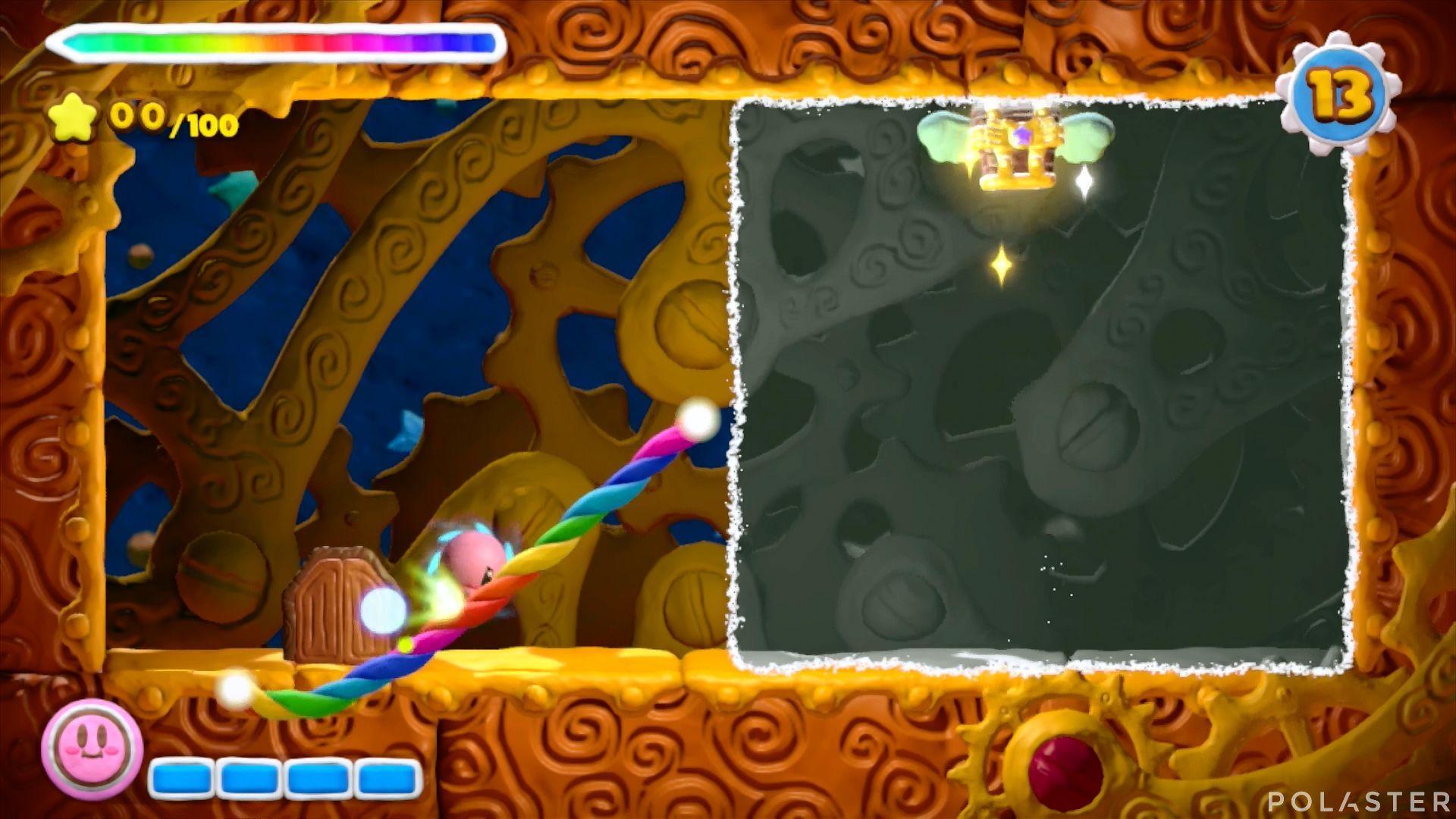 Kirby y el Pincel Arcoíris - Desafío 13 Cofre 1