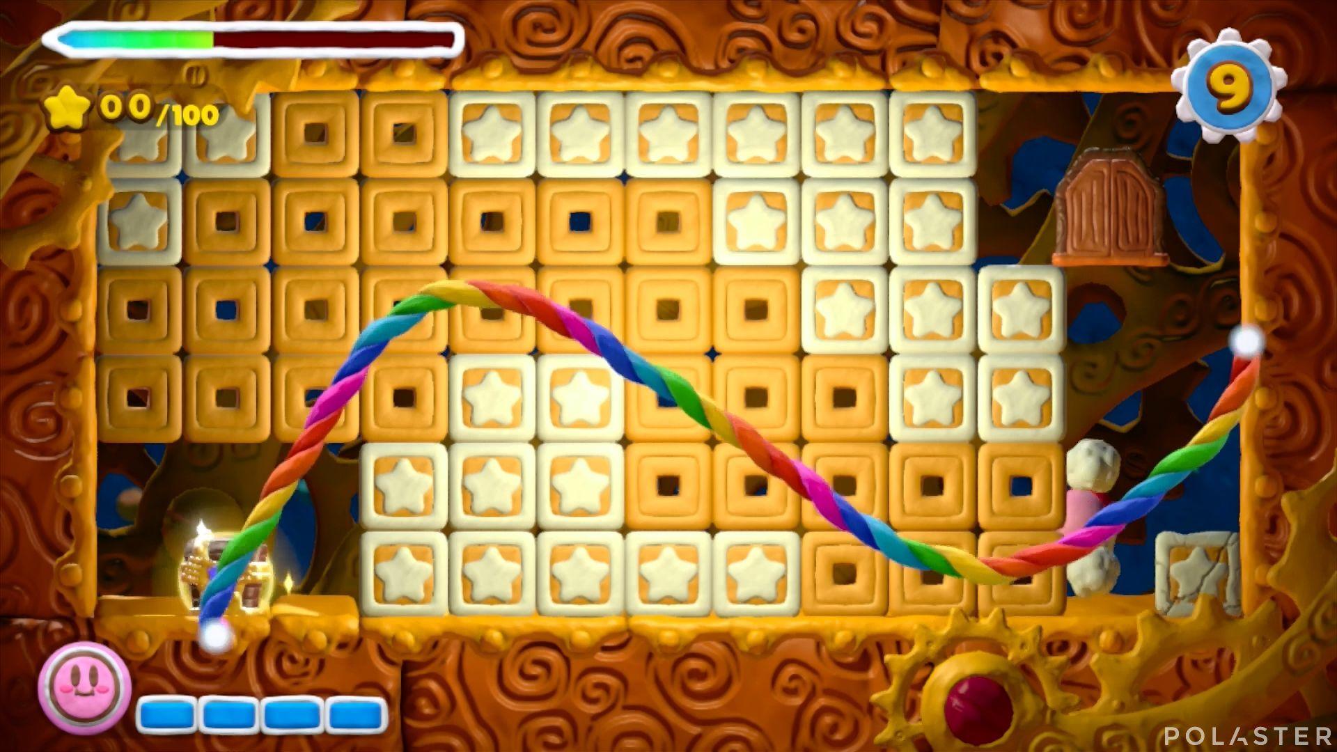 Kirby y el Pincel Arcoíris - Desafío 16 Cofre 1