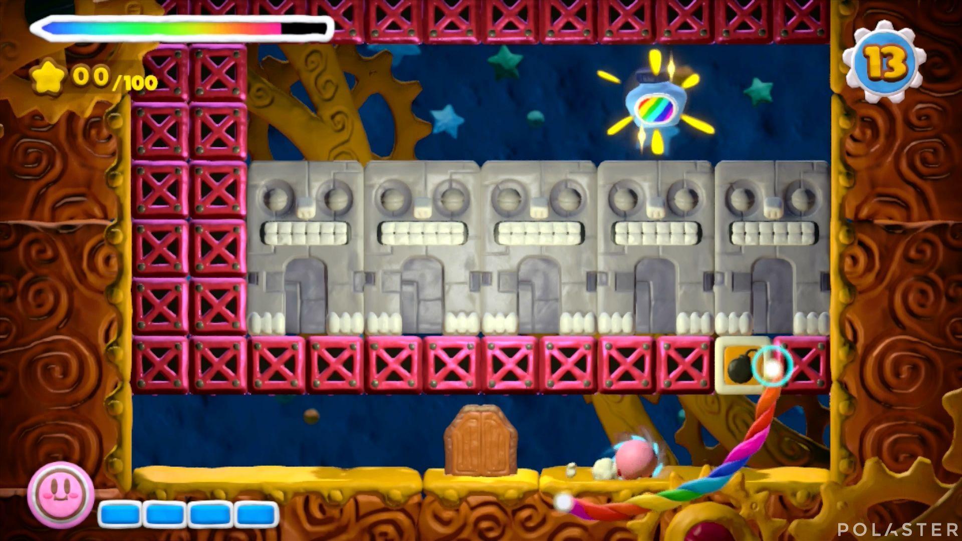 Kirby y el Pincel Arcoíris - Desafío 16 Cofre 11