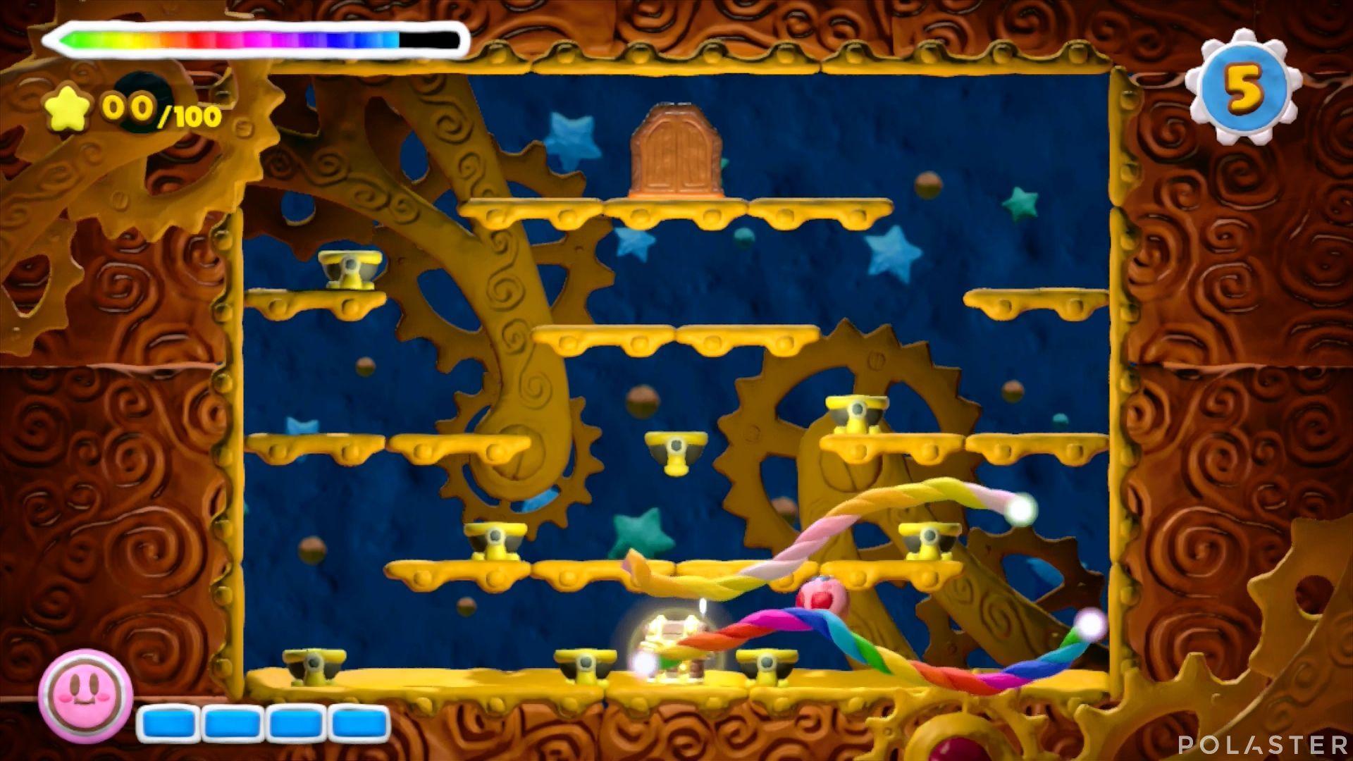 Kirby y el Pincel Arcoíris - Desafío 16 Cofre 12