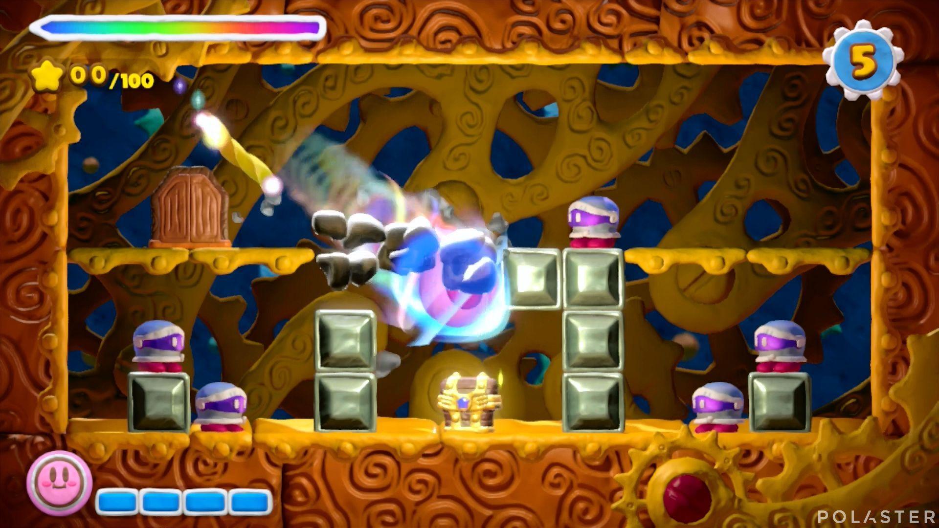 Kirby y el Pincel Arcoíris - Desafío 16 Cofre 4