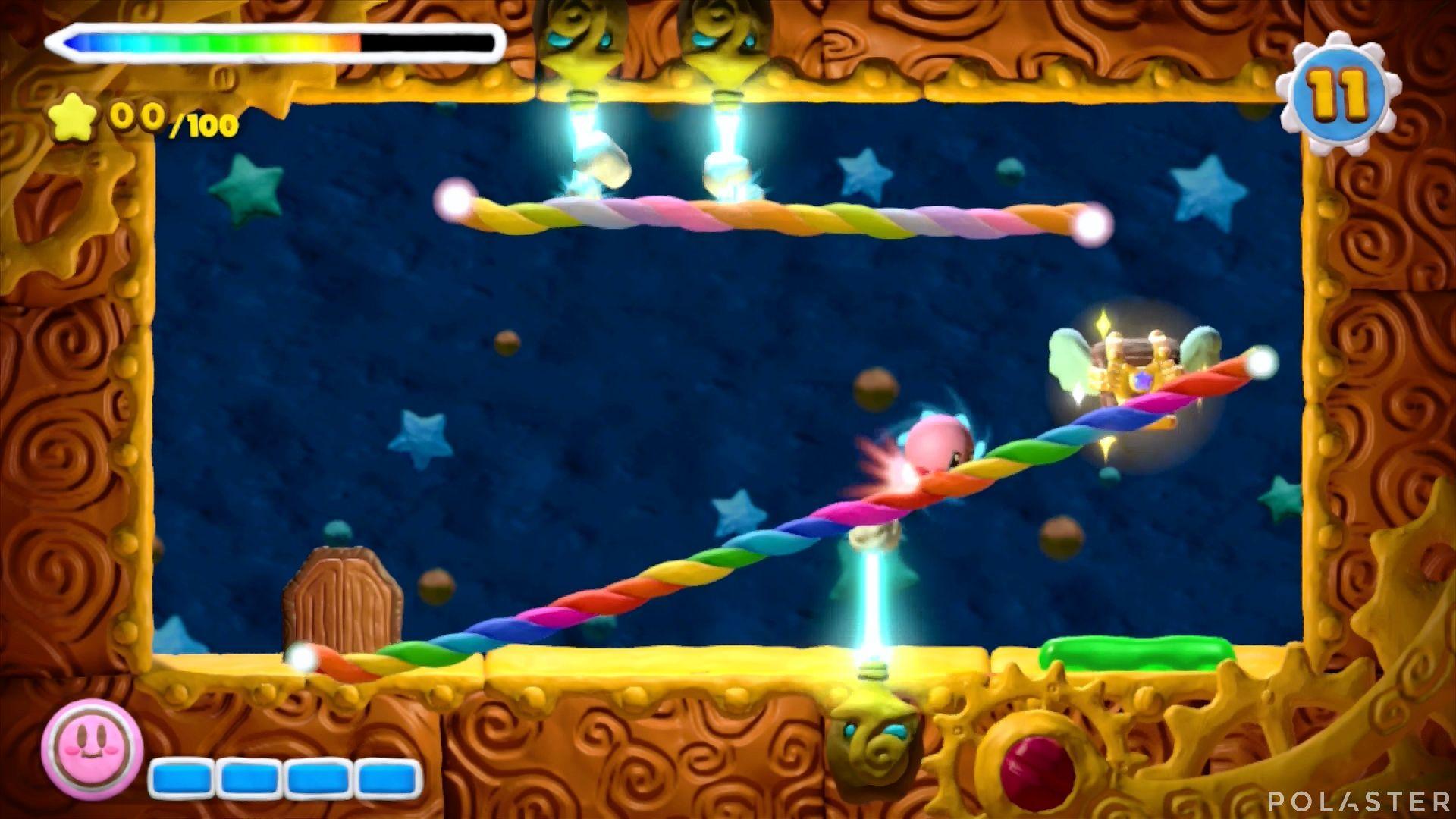 Kirby y el Pincel Arcoíris - Desafío 16 Cofre 5