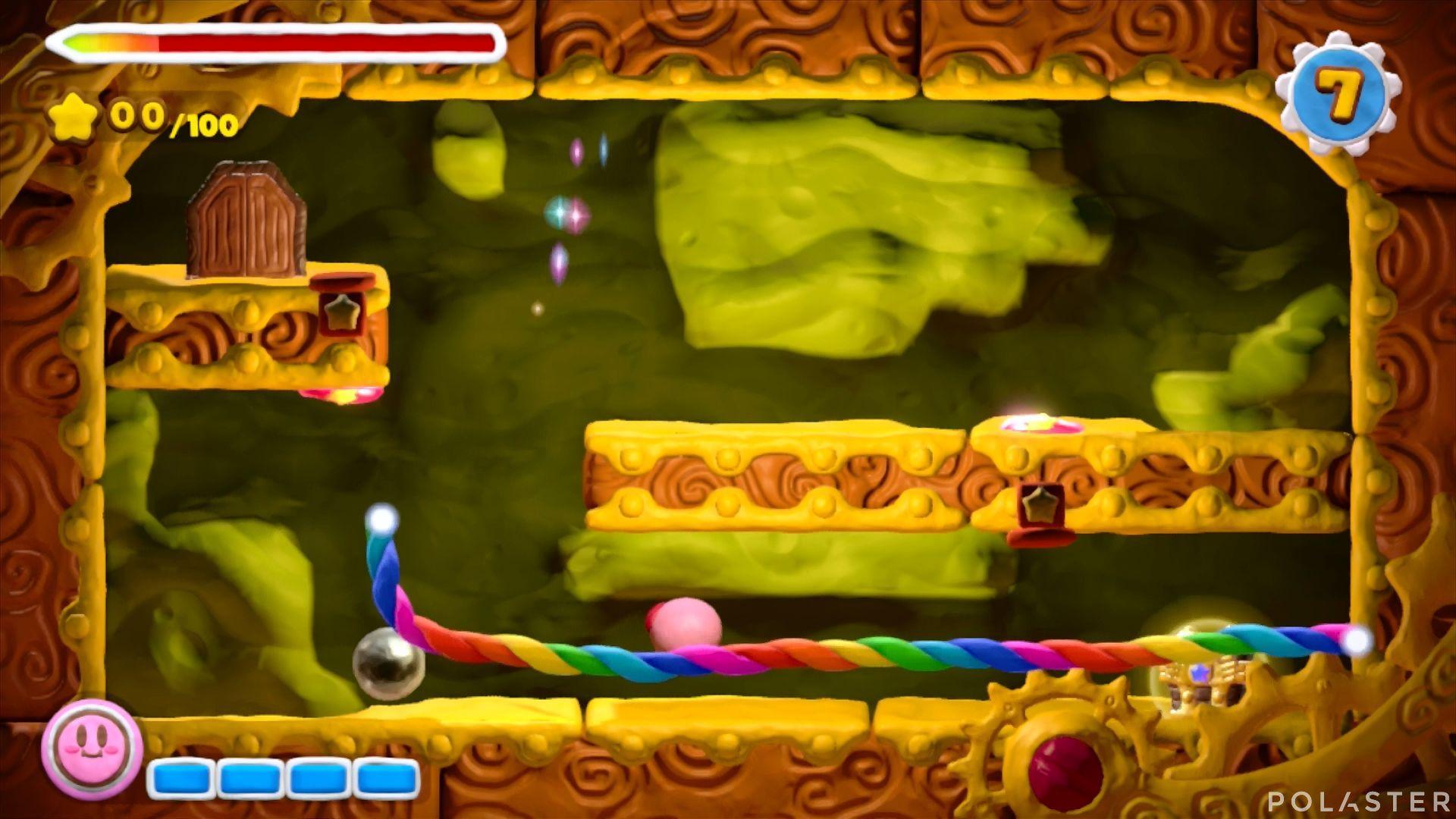Kirby y el Pincel Arcoíris - Desafío 16 Cofre 7