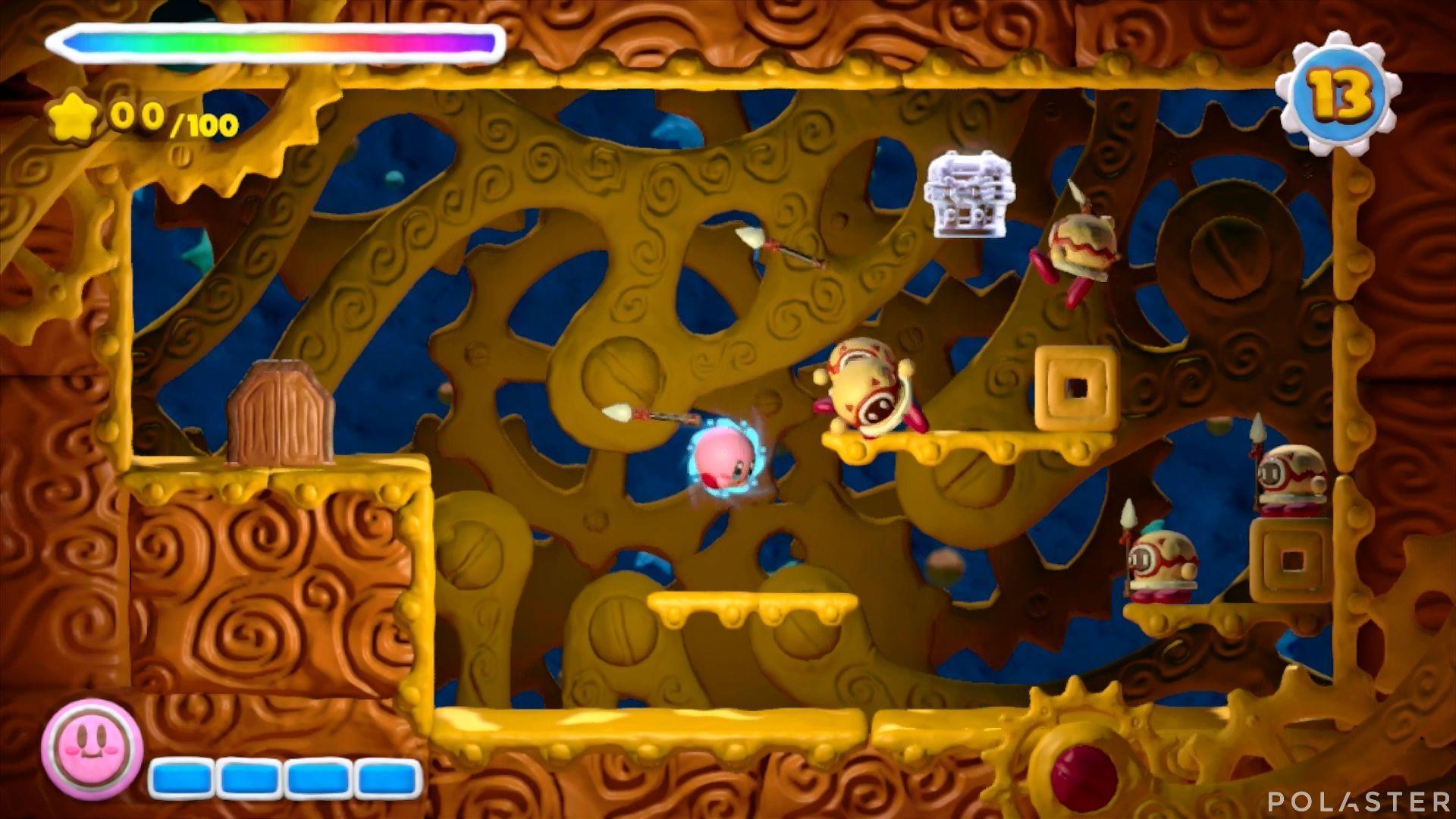 Kirby y el Pincel Arcoíris - Desafío 16 Cofre 8