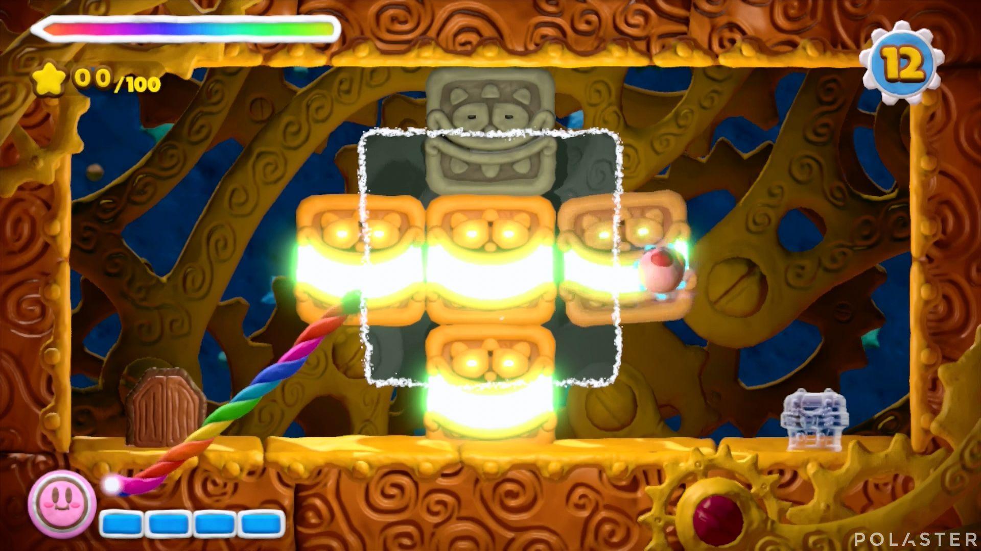 Kirby y el Pincel Arcoíris - Desafío 16 Cofre 9