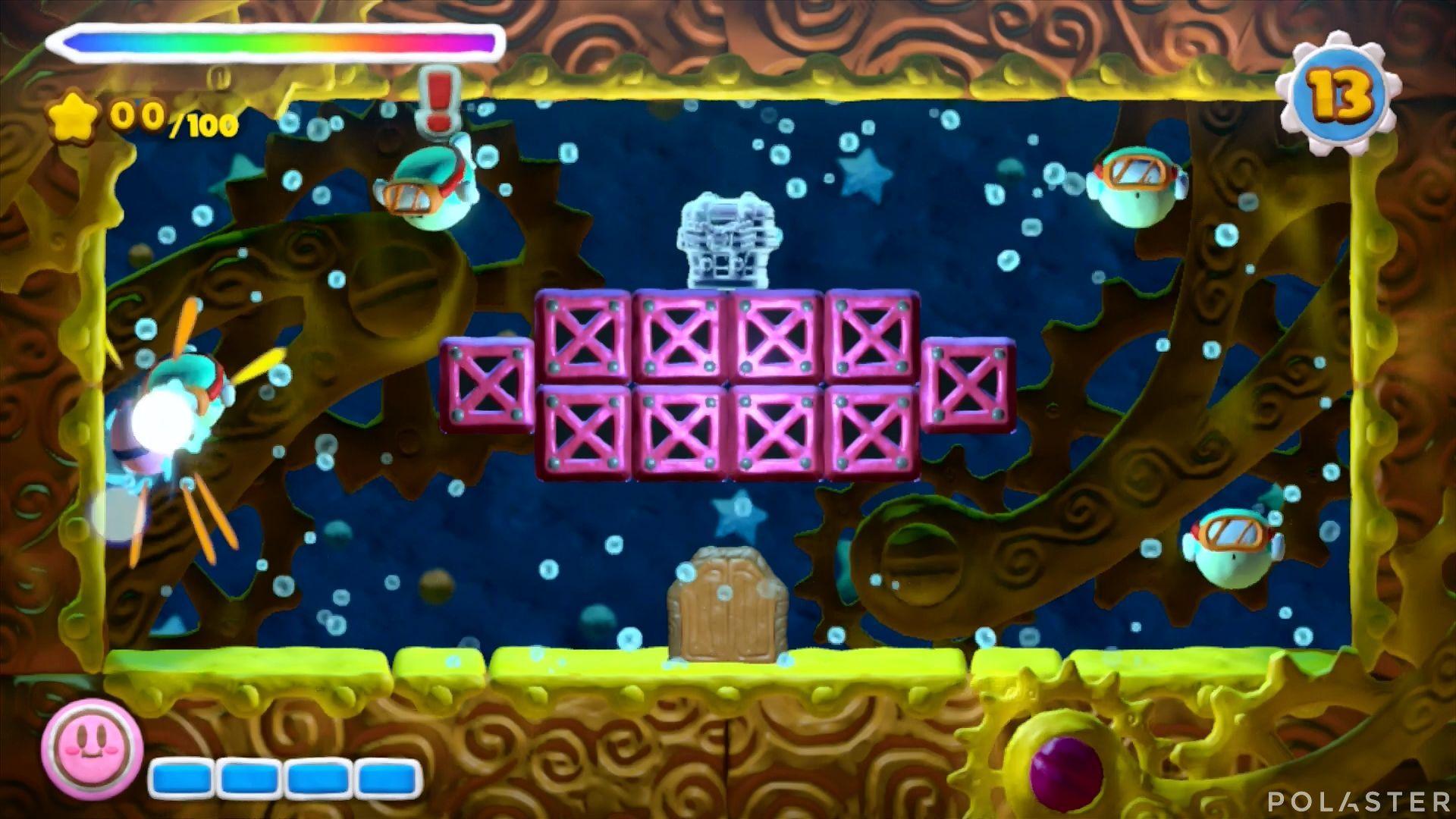 Kirby y el Pincel Arcoíris - Desafío 17: Cofre 3