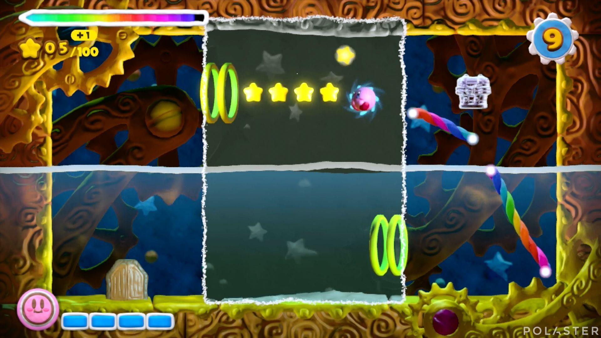 Kirby y el Pincel Arcoíris - Desafío 17: Cofre 4