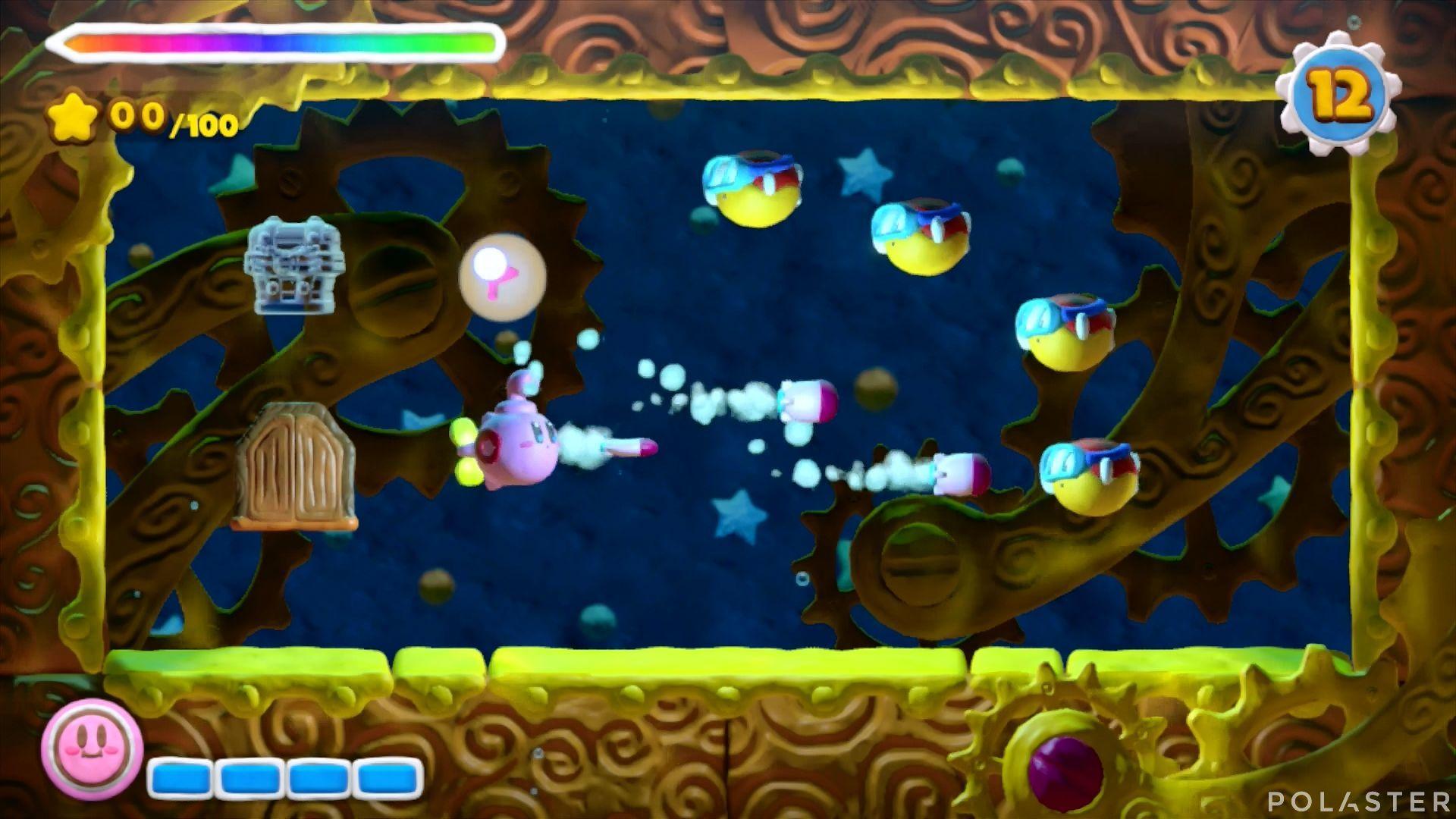 Kirby y el Pincel Arcoíris - Desafío 18: Cofre 1