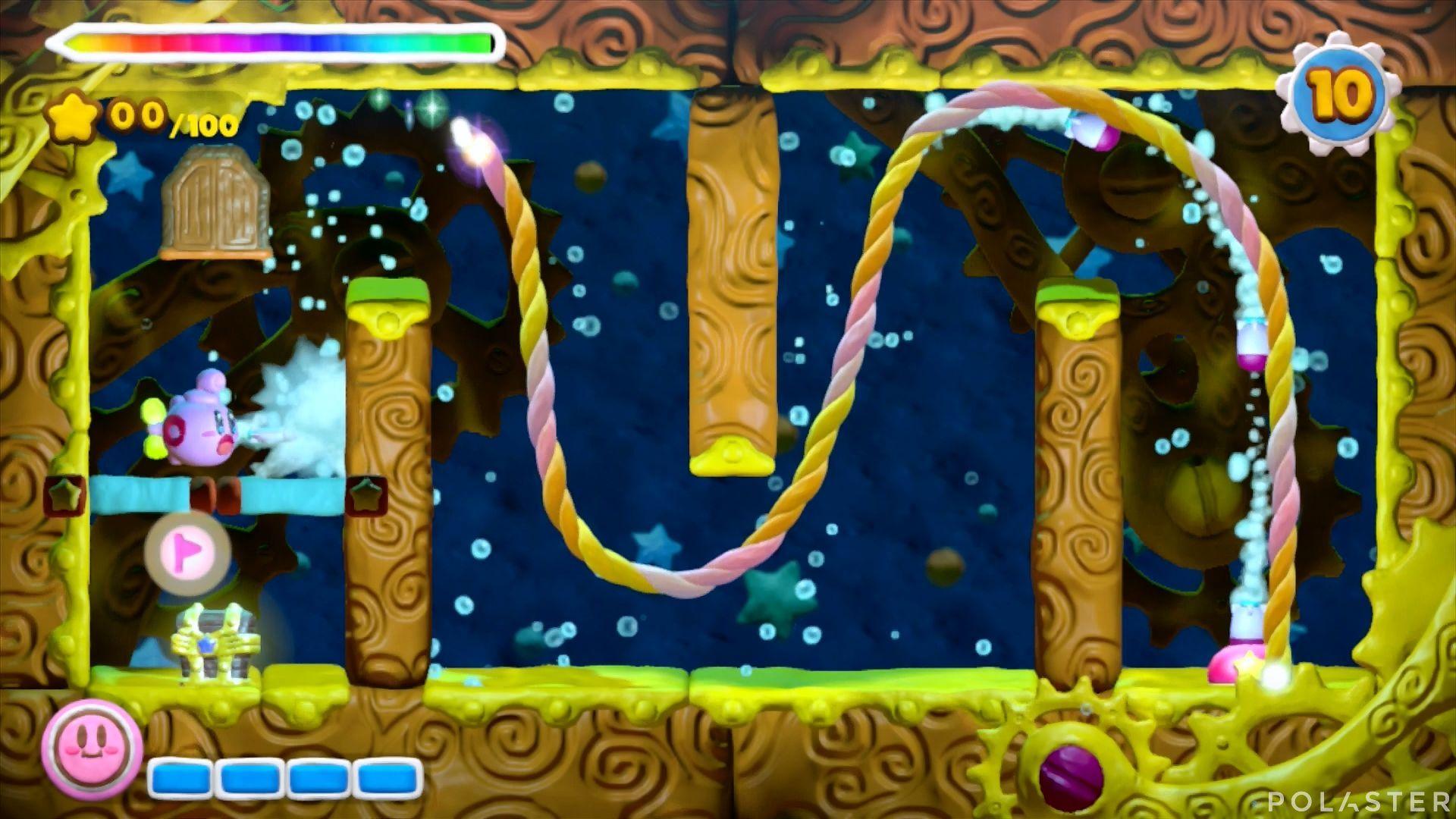 Kirby y el Pincel Arcoíris - Desafío 18: Cofre 2