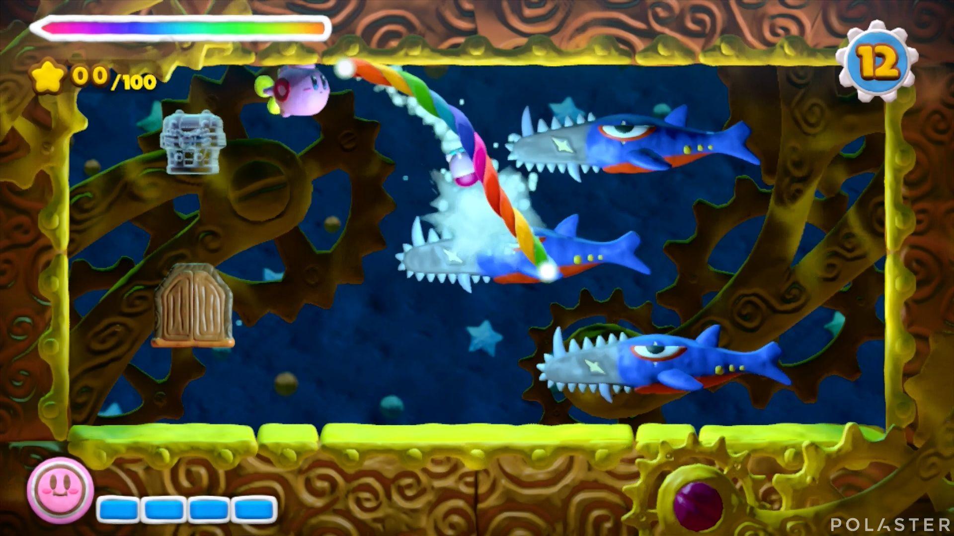 Kirby y el Pincel Arcoíris - Desafío 18: Cofre 3