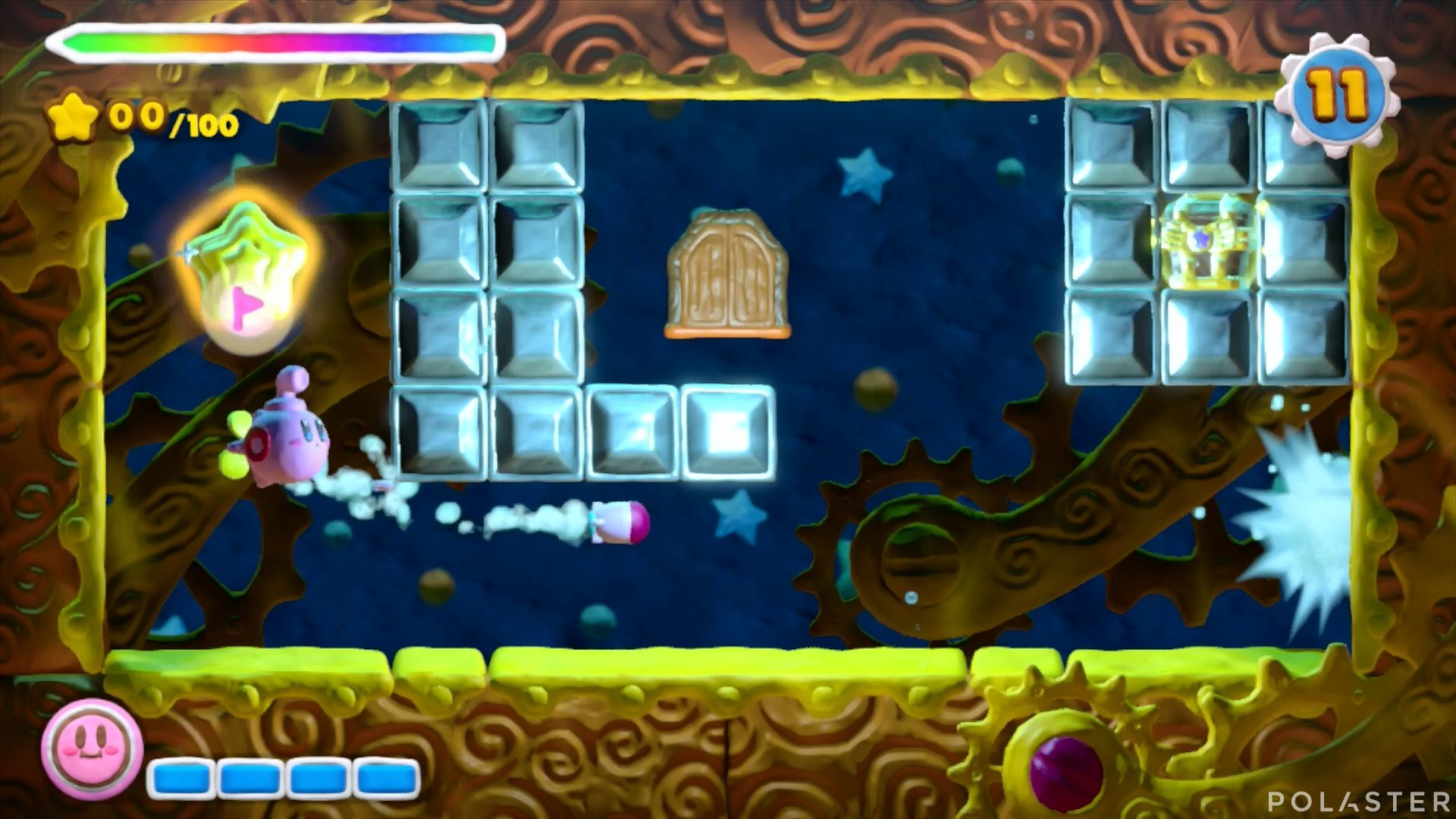 Kirby y el Pincel Arcoíris - Desafío 18: Cofre 4