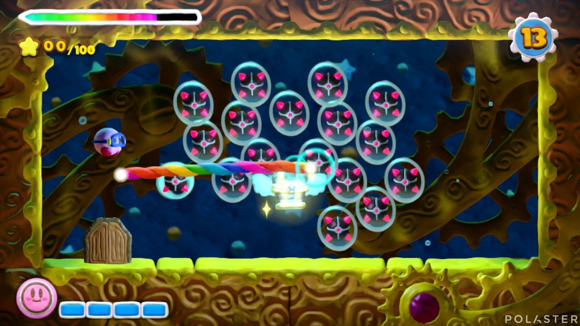 Kirby y el Pincel Arcoíris - Desafío 19: Cofre 1