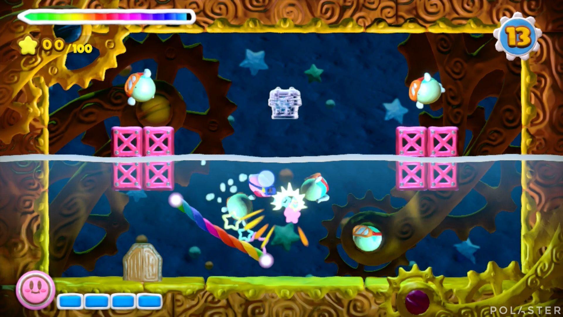 Kirby y el Pincel Arcoíris - Desafío 19: Cofre 3