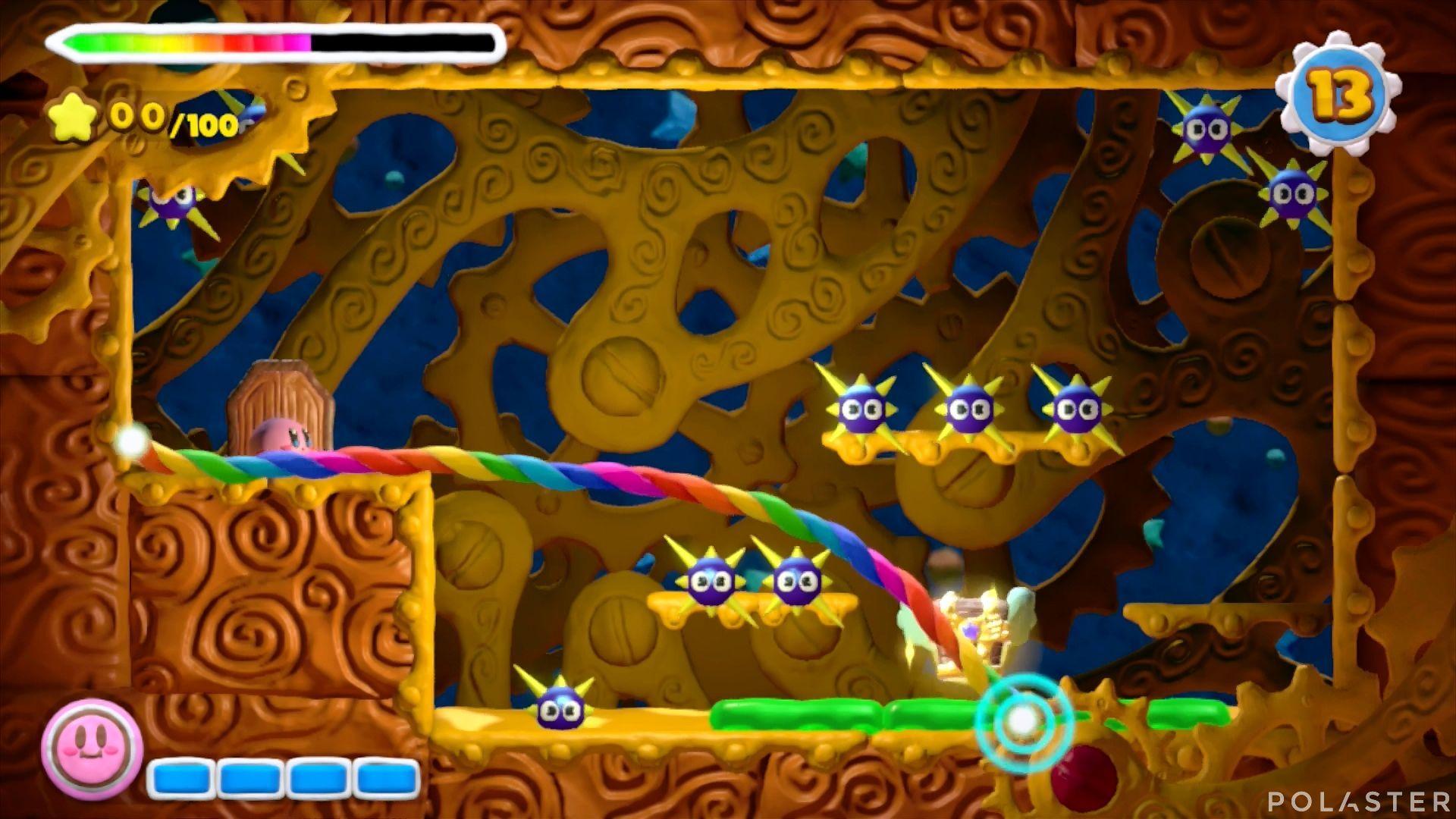 Kirby y el Pincel Arcoíris - Desafío 1 Cofre 1
