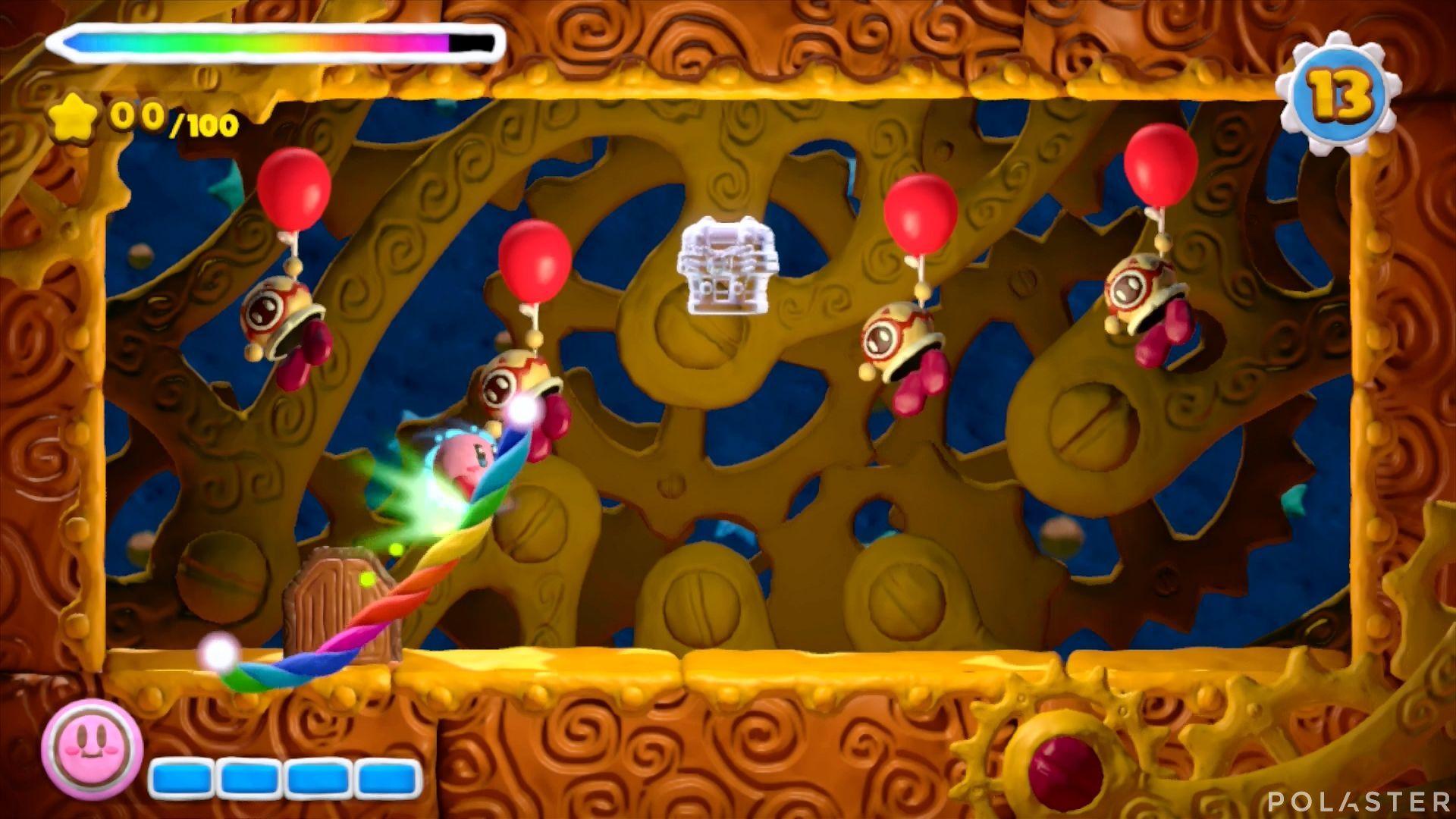 Kirby y el Pincel Arcoíris - Desafío 1 Cofre 3