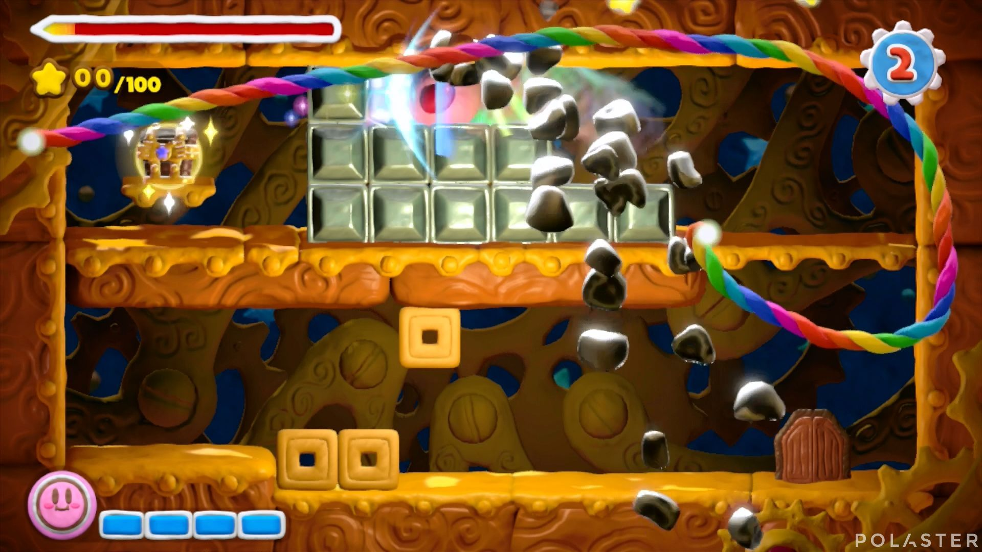 Kirby y el Pincel Arcoíris - Desafío 1 Cofre 4