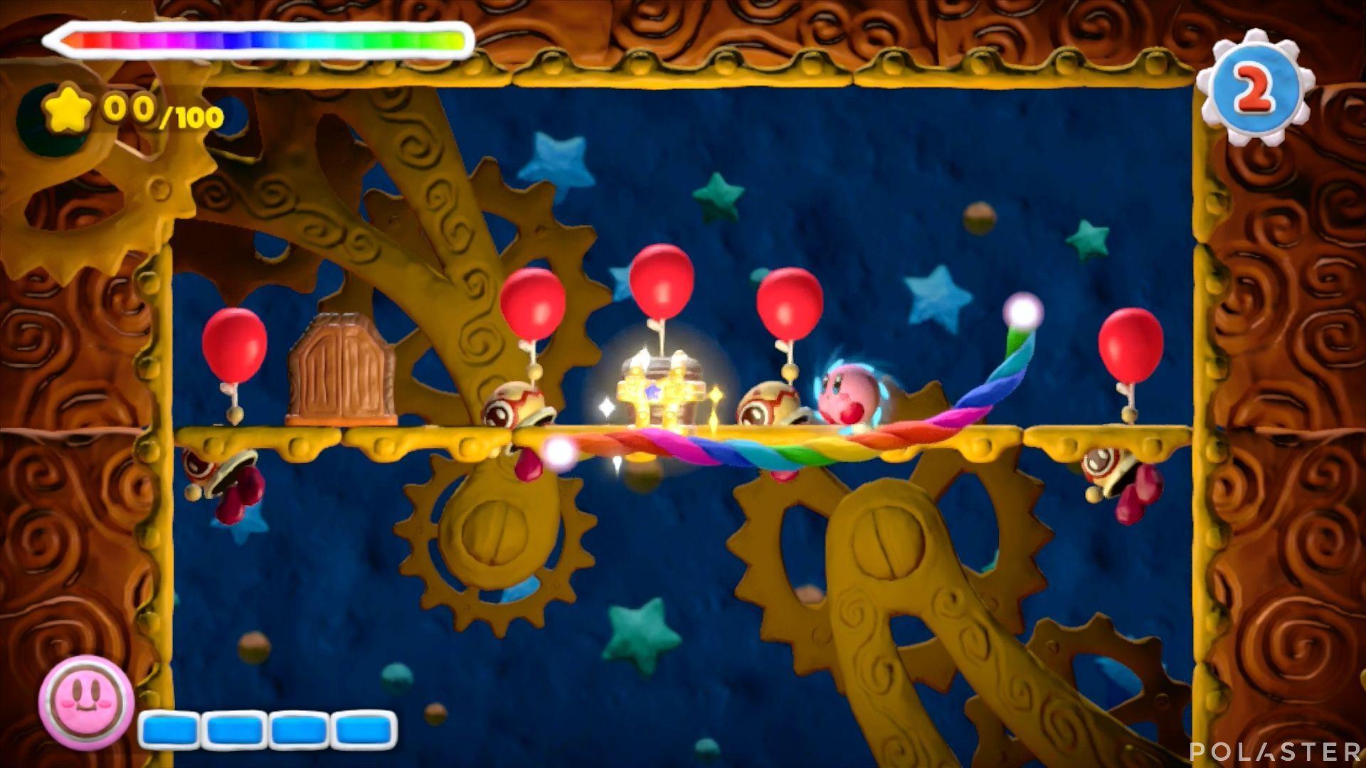 Kirby y el Pincel Arcoíris - Desafío 20: Cofre 2