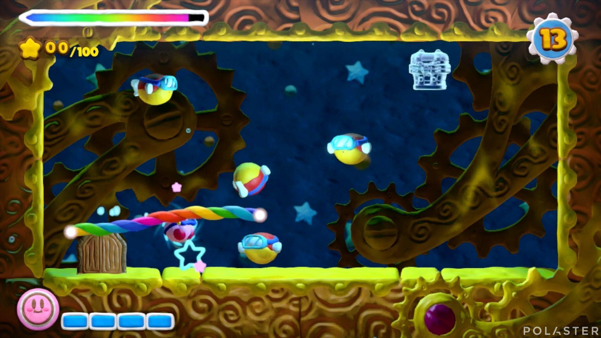 Kirby y el Pincel Arcoíris - Desafío 21: Cofre 1