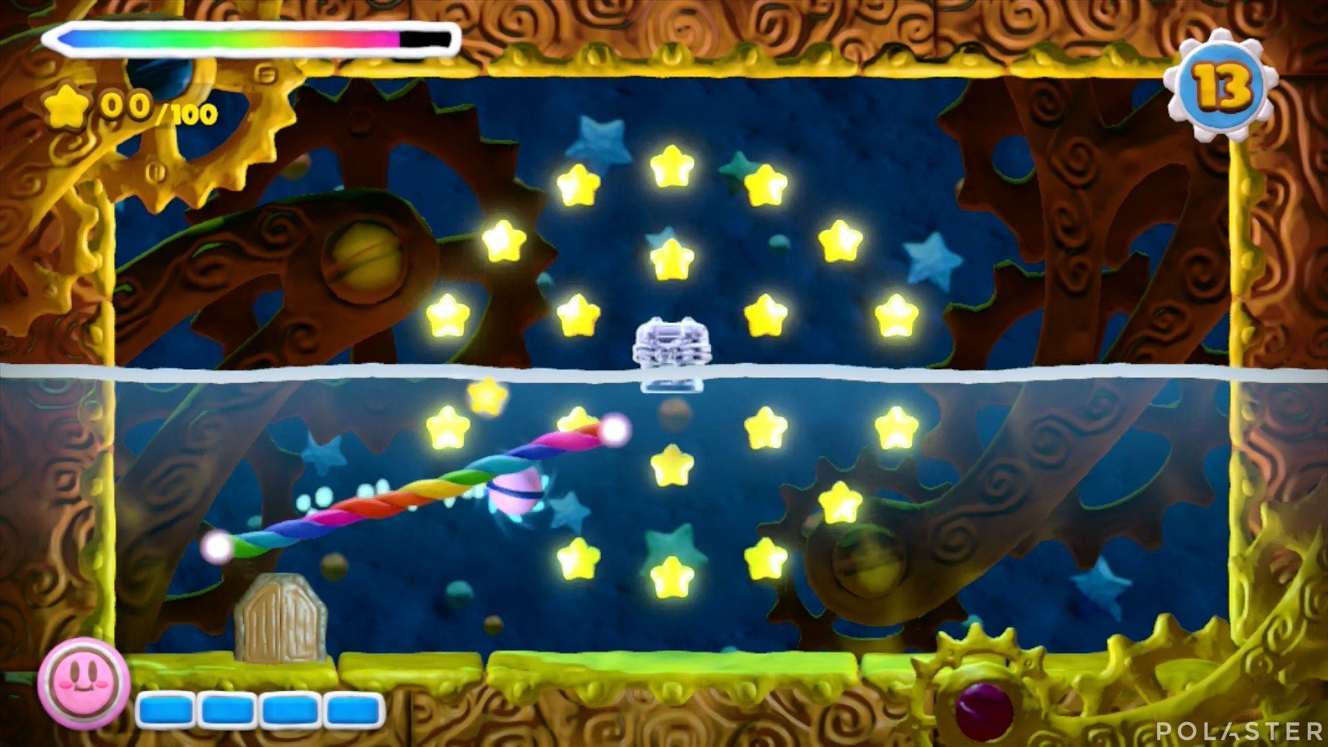 Kirby y el Pincel Arcoíris - Desafío 21: Cofre 2