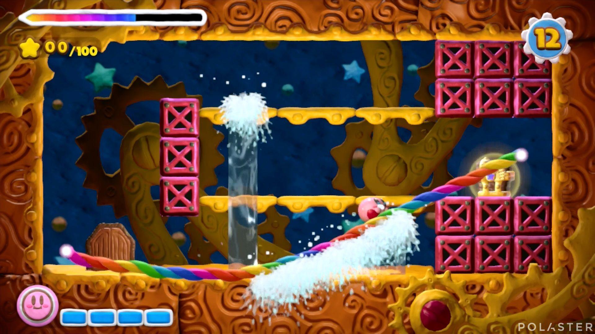 Kirby y el Pincel Arcoíris - Desafío 21: Cofre 3