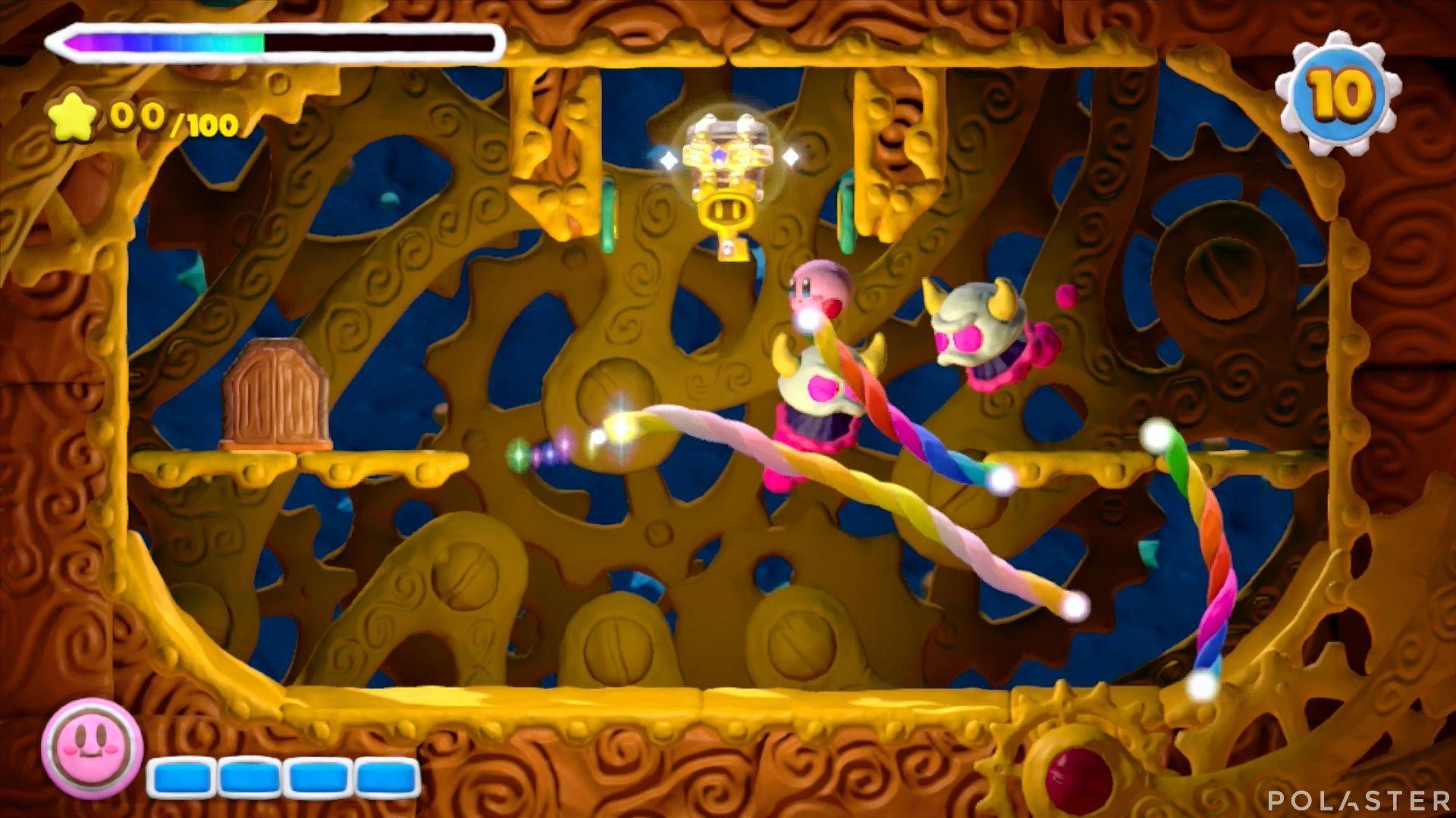 Kirby y el Pincel Arcoíris - Desafío 21: Cofre 4