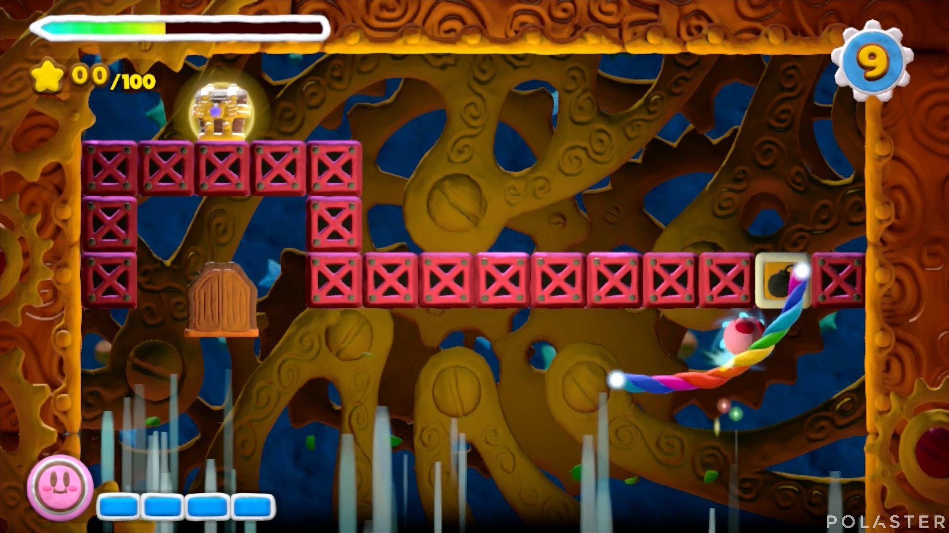 Kirby y el Pincel Arcoíris - Desafío 22: Cofre 2