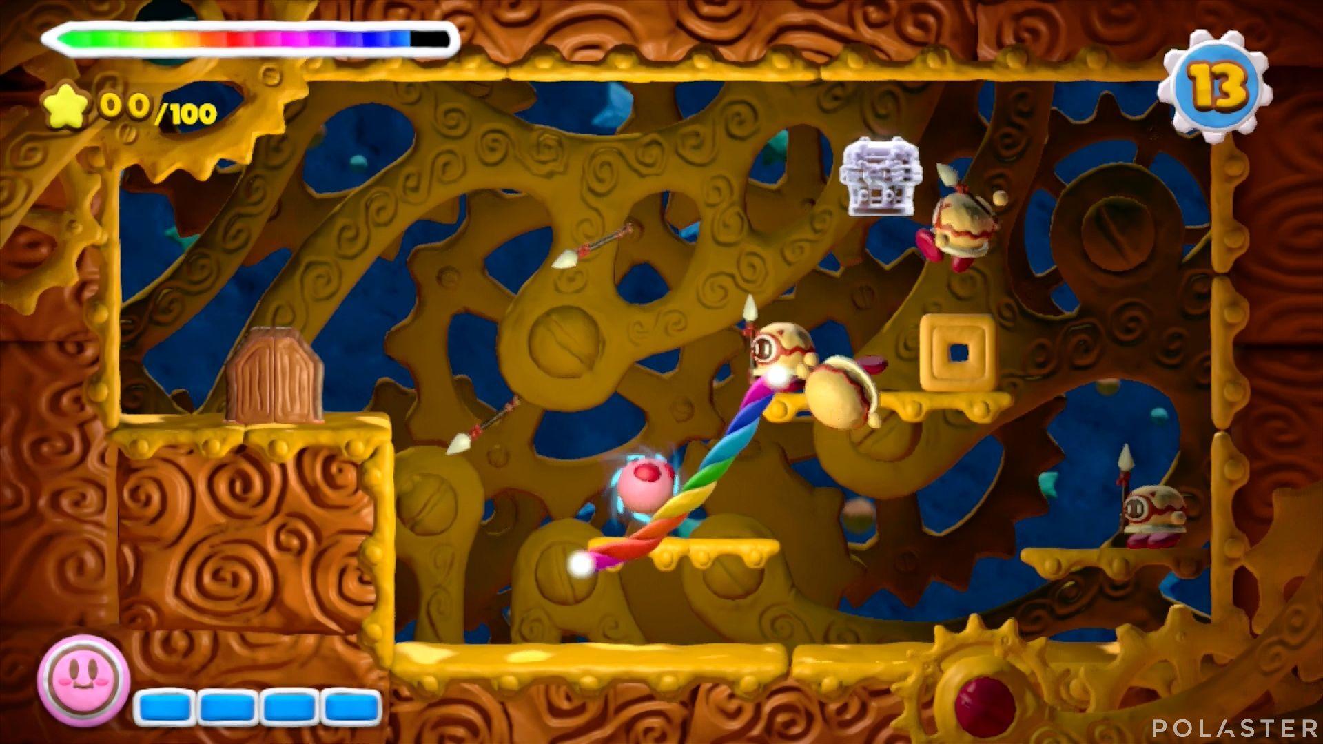 Kirby y el Pincel Arcoíris - Desafío 22: Cofre 3