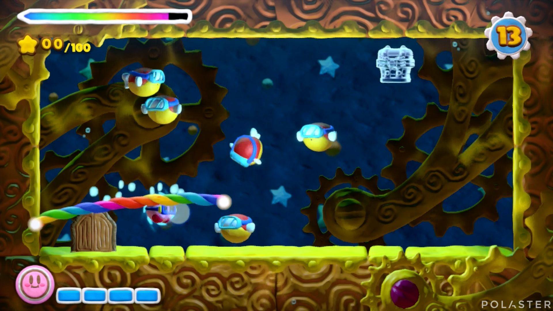 Kirby y el Pincel Arcoíris - Desafío 23: Cofre 1
