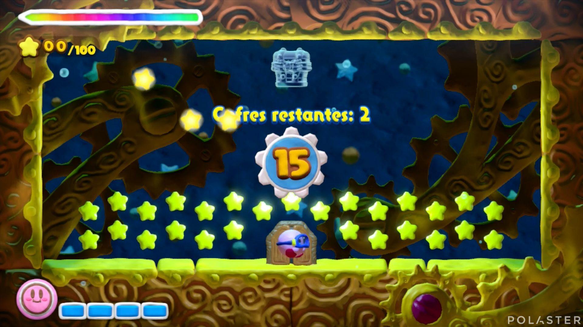 Kirby y el Pincel Arcoíris - Desafío 23: Cofre 11