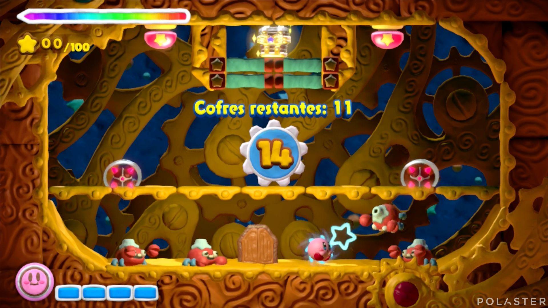 Kirby y el Pincel Arcoíris - Desafío 23: Cofre 2