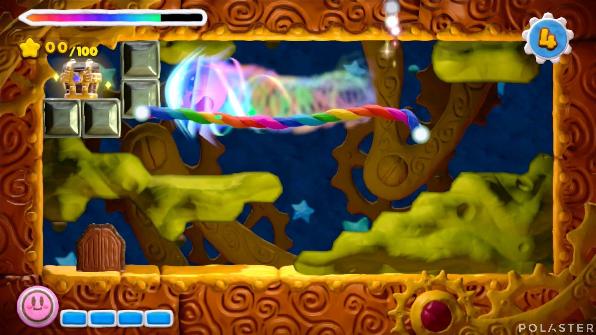 Kirby y el Pincel Arcoíris - Desafío 23: Cofre 8