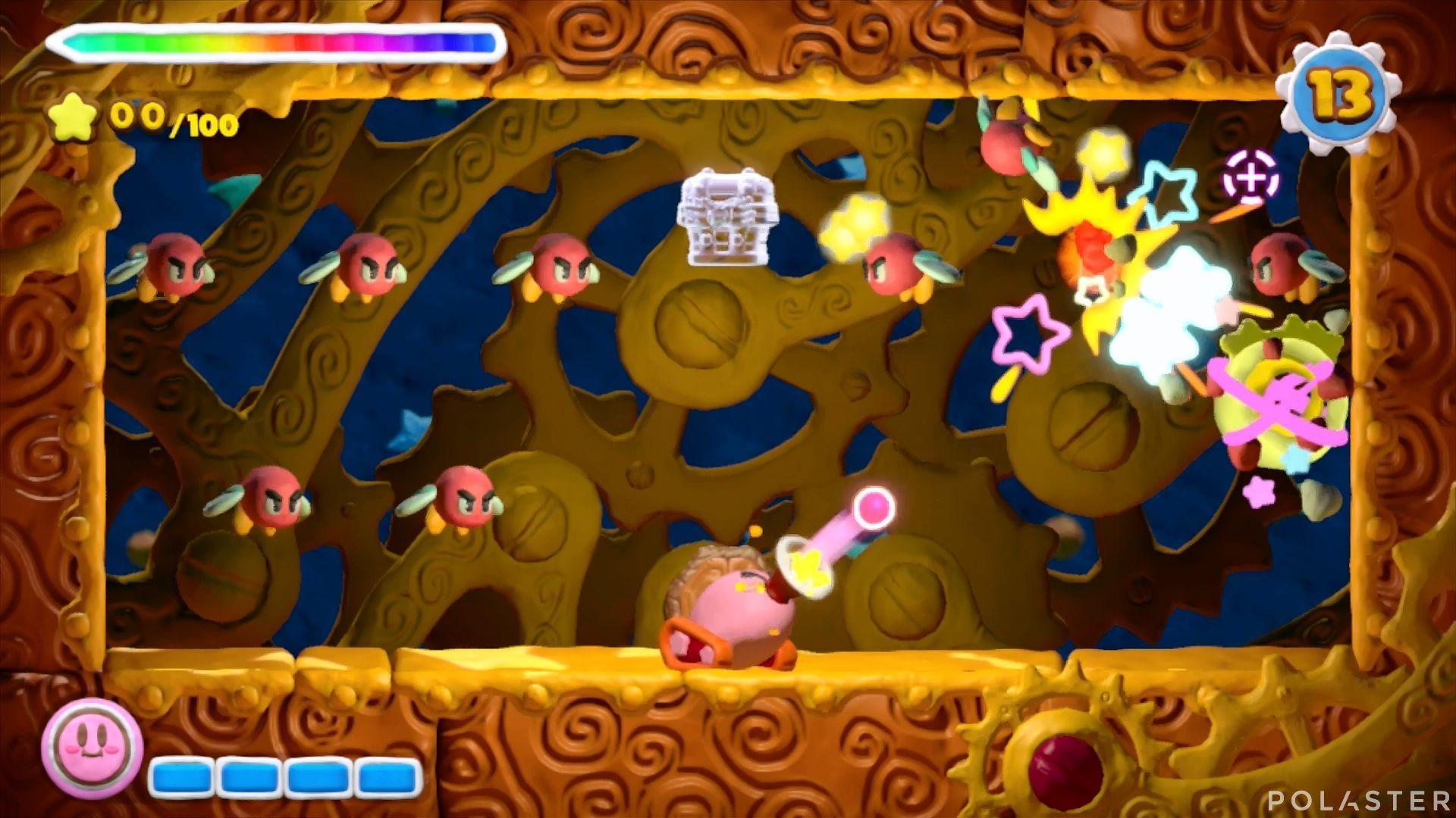 Kirby y el Pincel Arcoíris - Desafío 24: Cofre 1