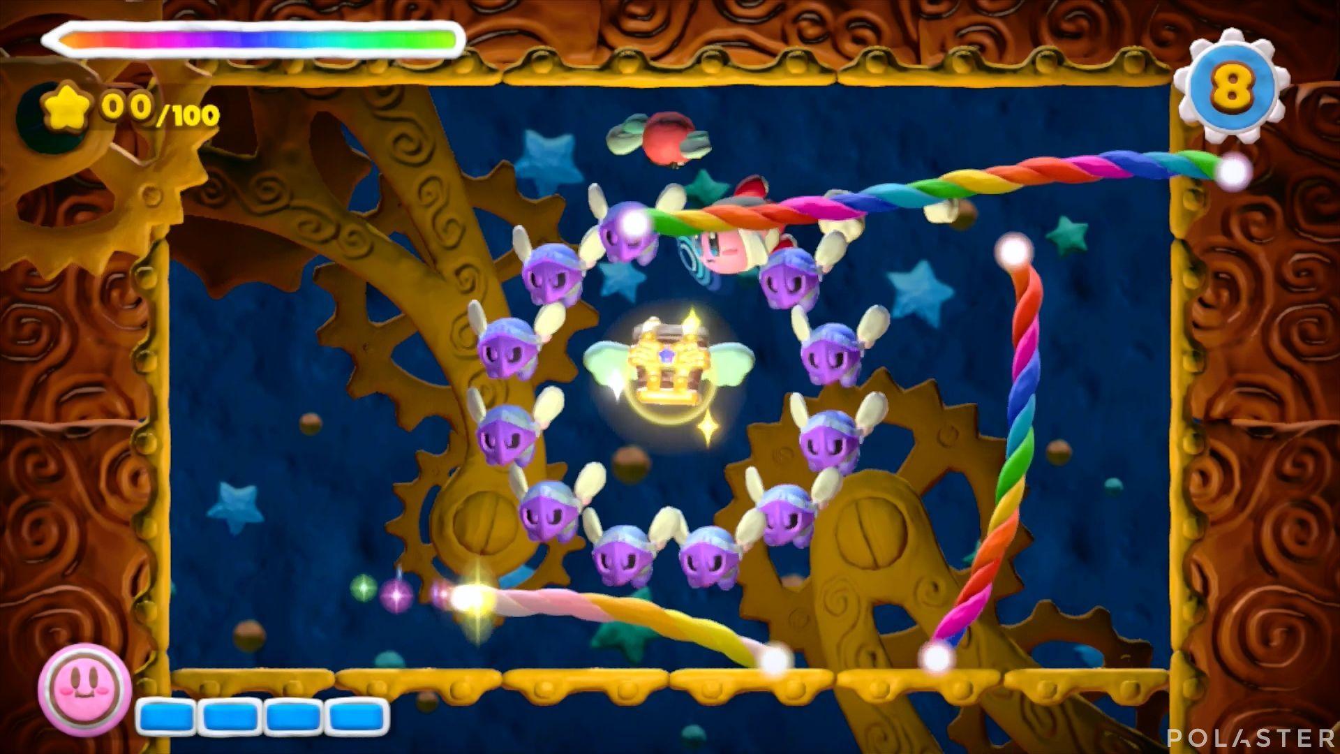 Kirby y el Pincel Arcoíris - Desafío 24: Cofre 11