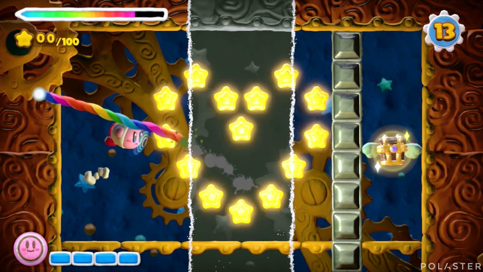 Kirby y el Pincel Arcoíris - Desafío 24: Cofre 12