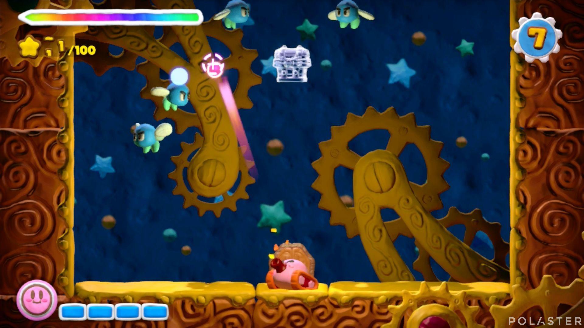 Kirby y el Pincel Arcoíris - Desafío 24: Cofre 2