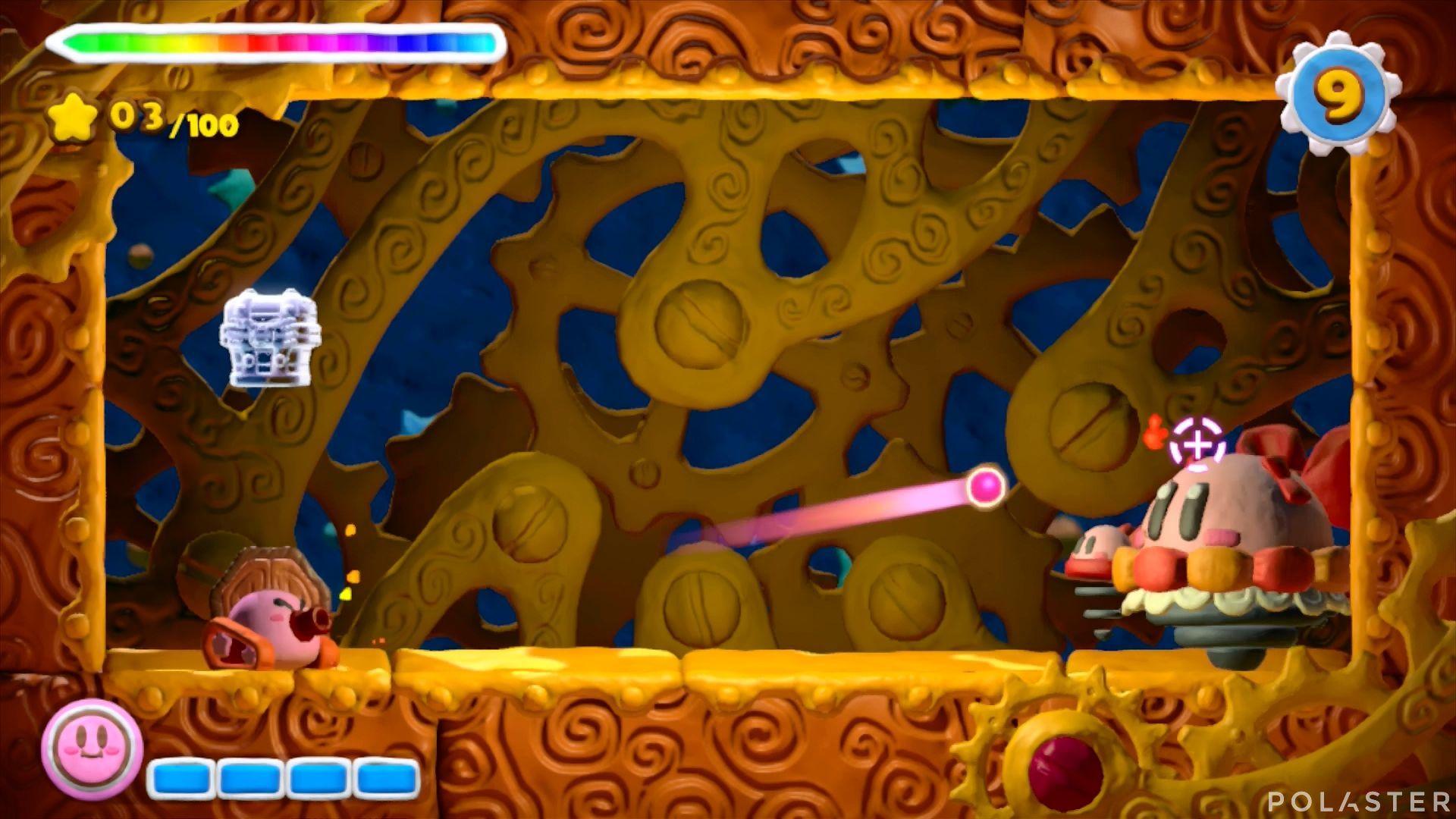Kirby y el Pincel Arcoíris - Desafío 24: Cofre 4