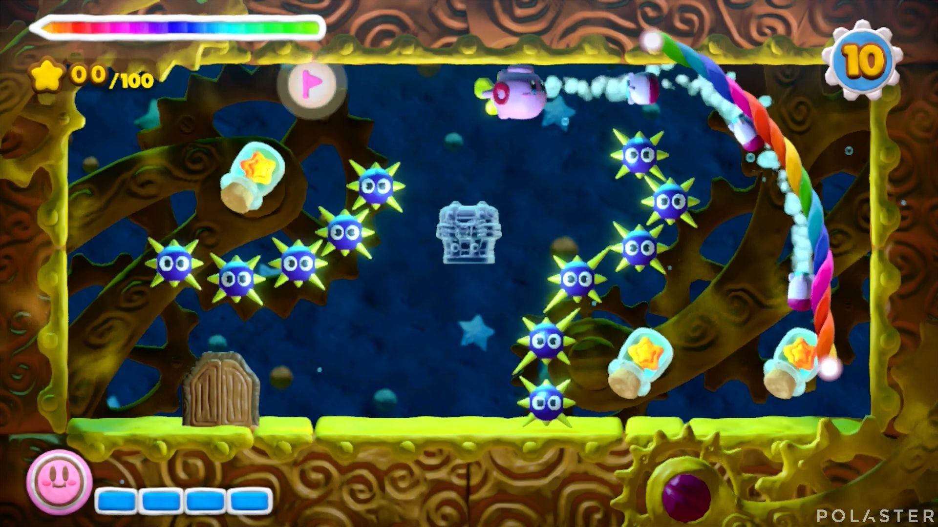 Kirby y el Pincel Arcoíris - Desafío 24: Cofre 8
