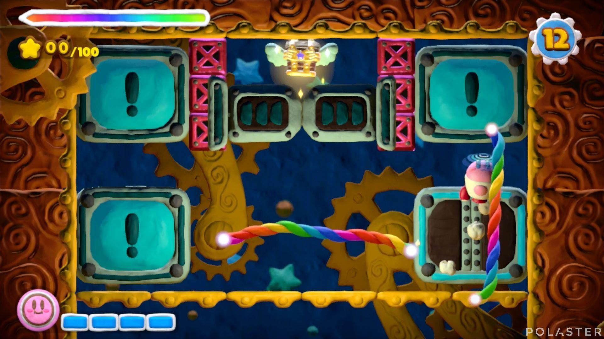 Kirby y el Pincel Arcoíris - Desafío 25: Cofre 1