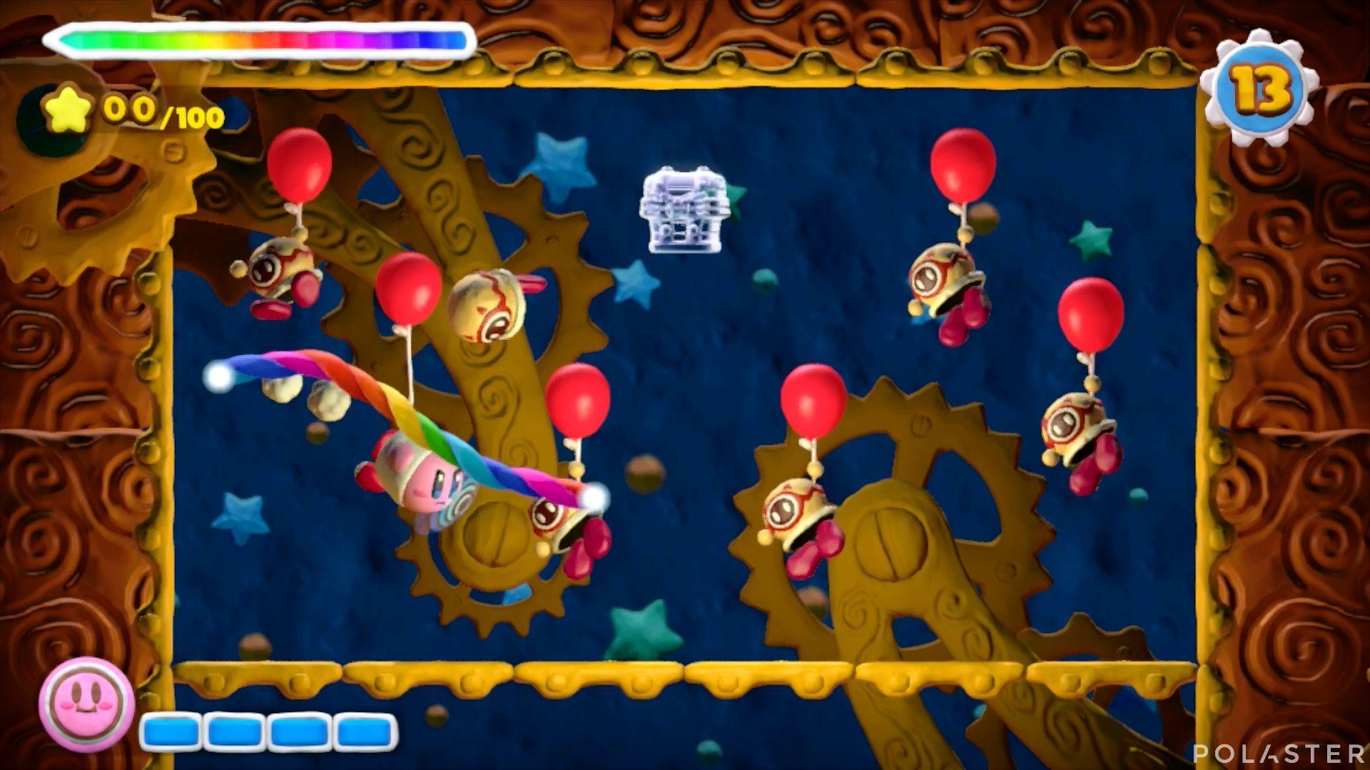 Kirby y el Pincel Arcoíris - Desafío 25: Cofre 2